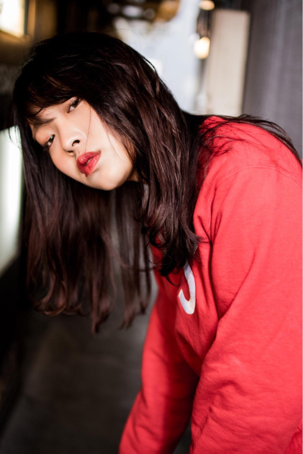 ピンク ストリート 外国人風カラー 透明感 ヘアスタイルや髪型の写真・画像   丸山 大樹 / zina tokyo