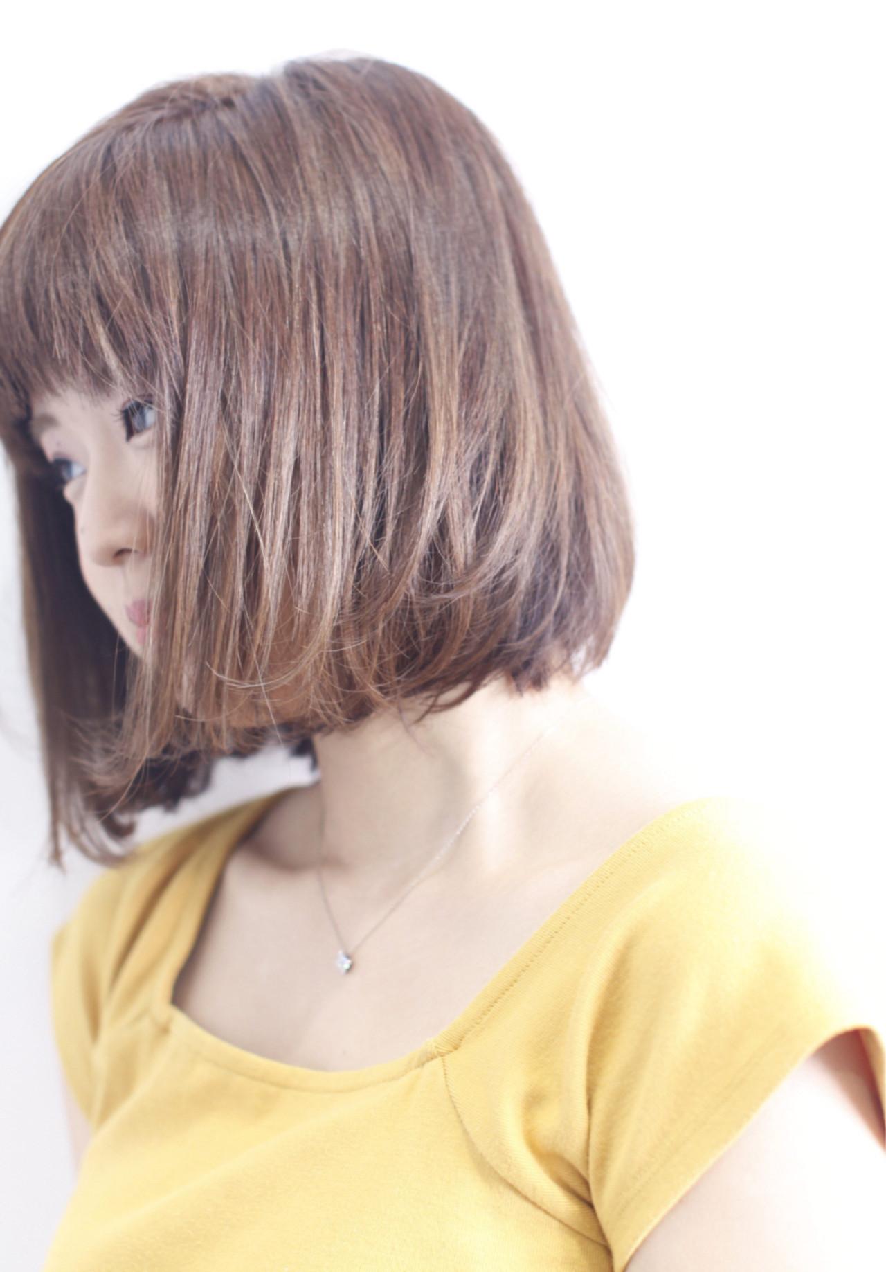 ナチュラル 外国人風カラー ダブルカラー ワンカール ヘアスタイルや髪型の写真・画像 | 中村真一 / hair make No.8 宮崎市