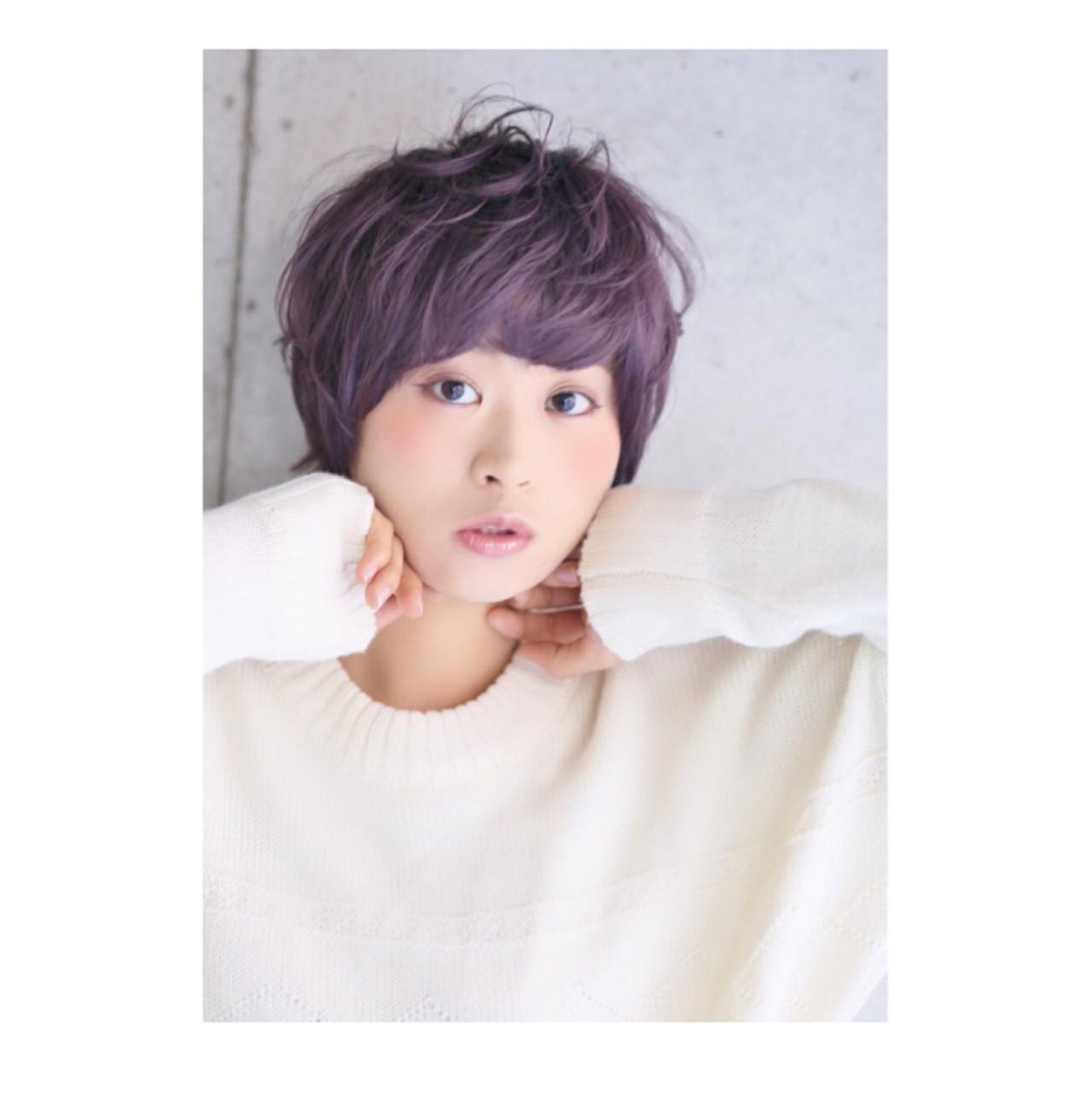 ラベンダーアッシュなあなたの髪色を旬に♪うっとり色落ちを楽しもう 早坂ケースケ / GOSSIP HAIR