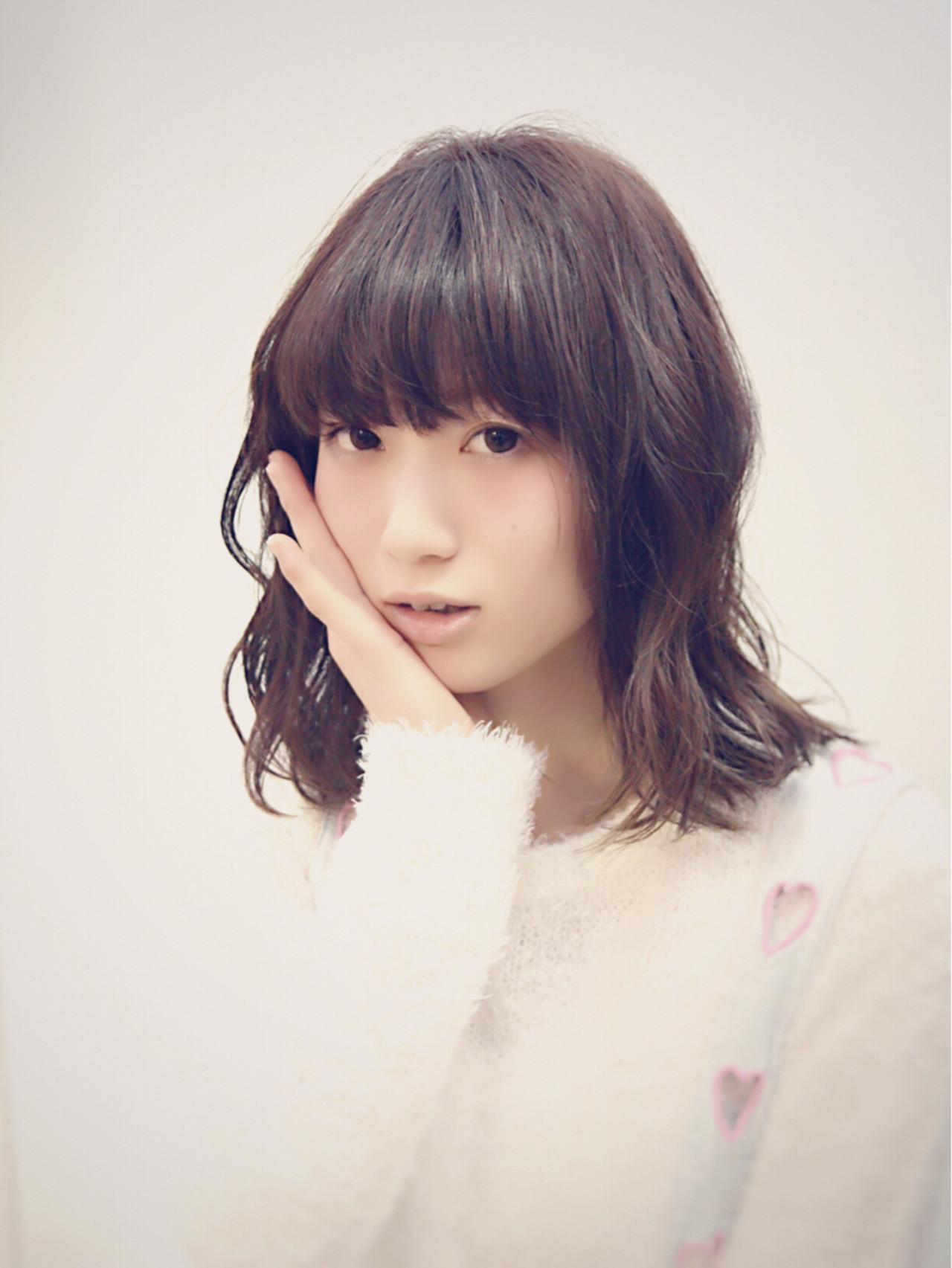 フェミニン ガーリー グレージュ ボブ ヘアスタイルや髪型の写真・画像   カラーリスト・YuuKi Sekimoto / wherever