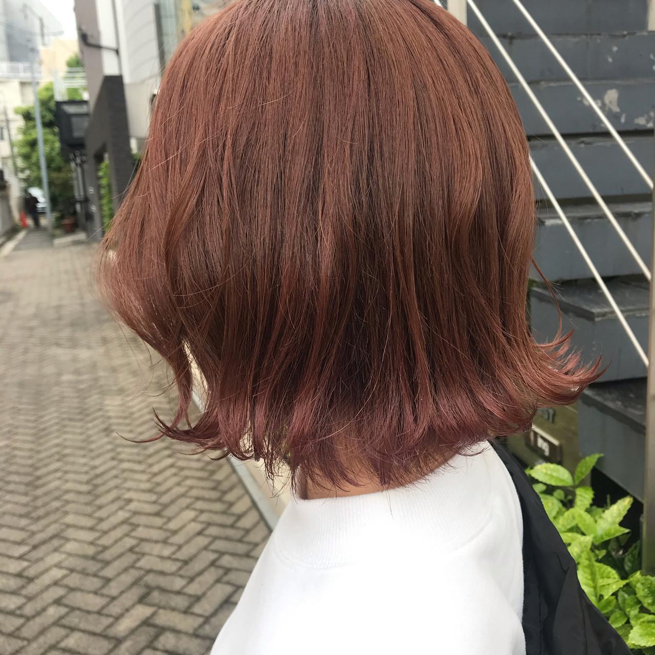 ストリート タンバルモリ 外ハネボブ ボブヘアスタイルや髪型の写真・画像