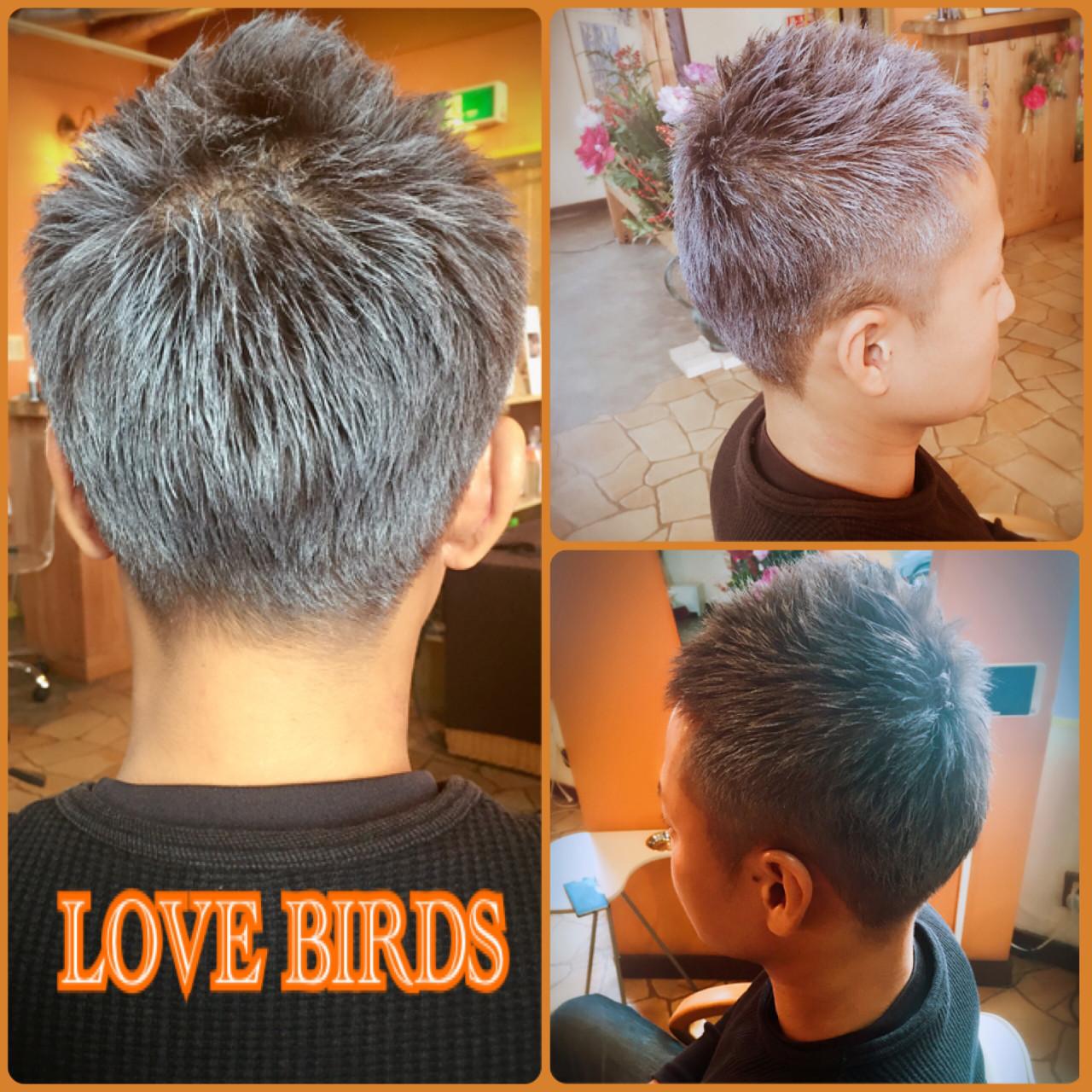 ショート アッシュ ベリーショート ストリート ヘアスタイルや髪型の写真・画像 | 門脇 トオル / Hair&Make  LOVE BIRDS