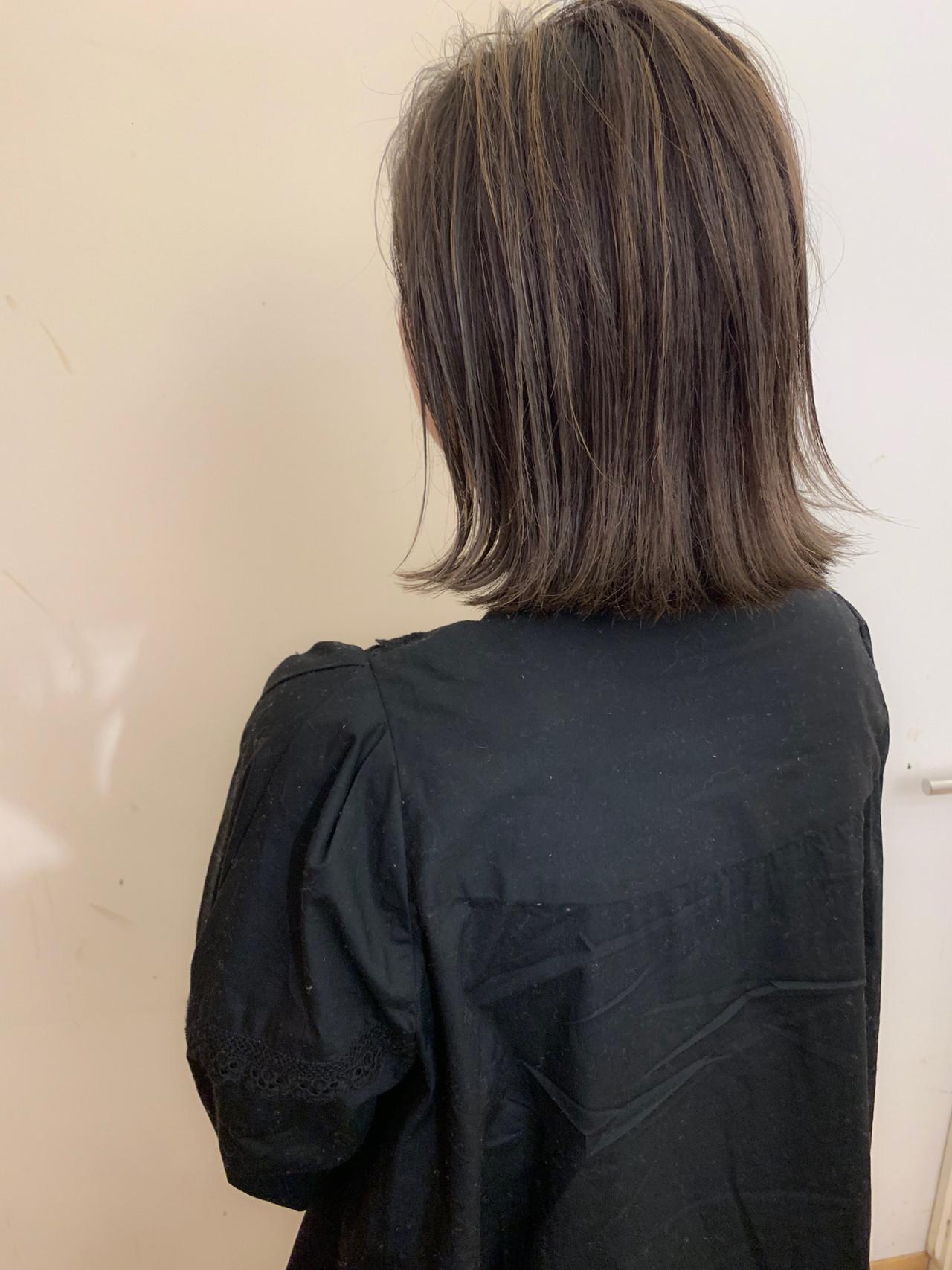 ボブ ショートボブ アンニュイほつれヘア 大人かわいい ヘアスタイルや髪型の写真・画像 | yumiko/sapporoSKNOW / SKNOW