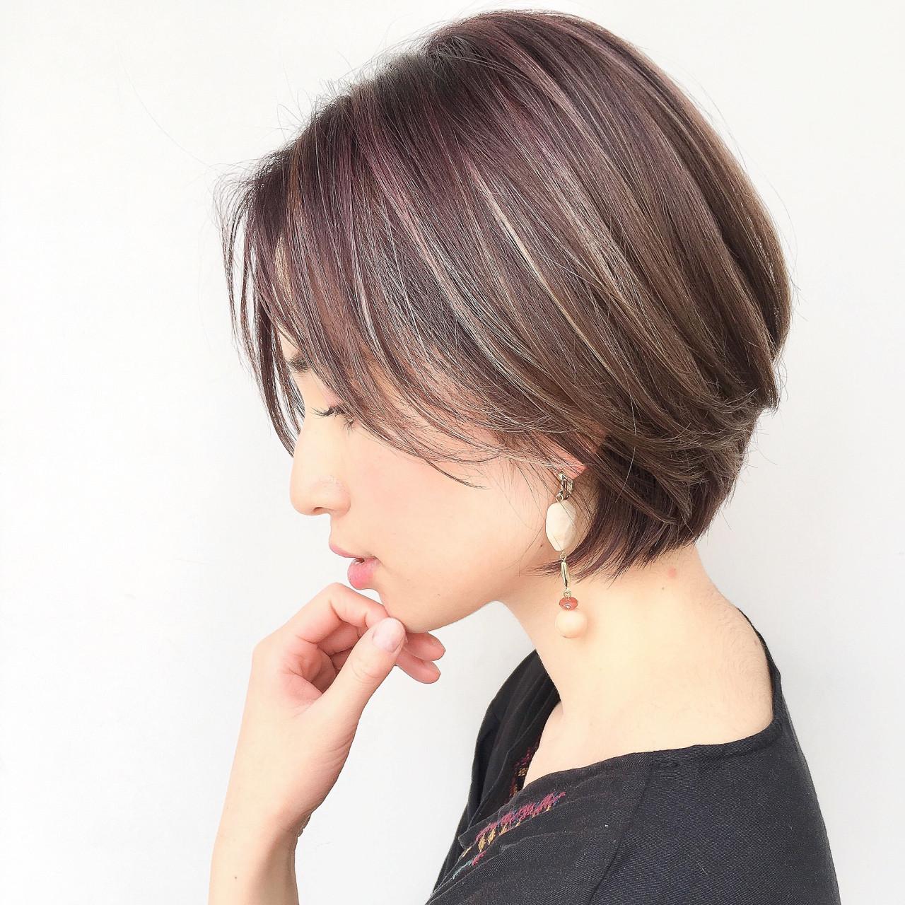ゆるふわ バレンタイン ナチュラル アンニュイ ヘアスタイルや髪型の写真・画像   ショートボブの匠【 山内大成 】『i.hair』 / 『 i. 』 omotesando