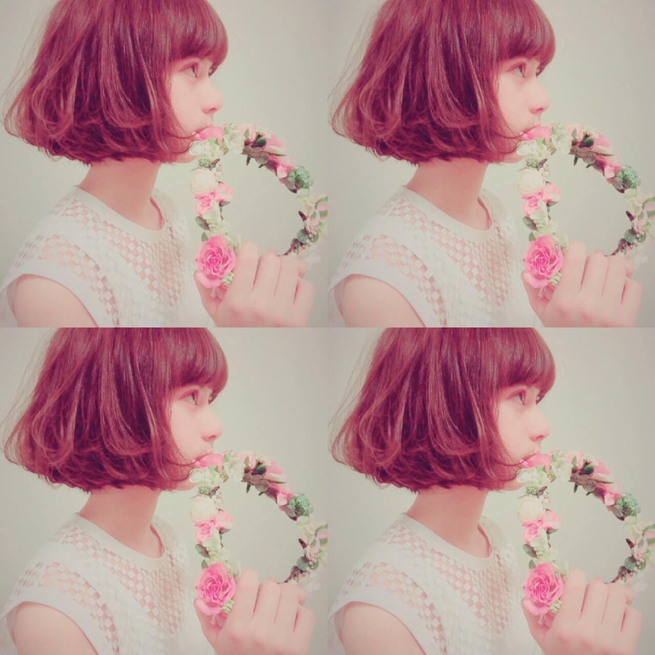 ぶれないオシャレを楽しみたい!ハイセンスな派手髪カタログ。 白澤 貴子 / カキモトアームズ二子玉川