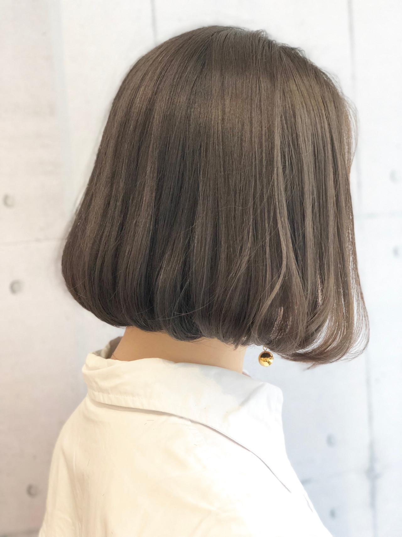 かわいい ゆるふわ ボブ ふんわり ヘアスタイルや髪型の写真・画像 | 戸澤 耕平 / STILL unlabel