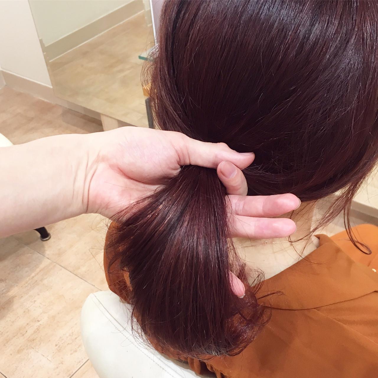 フェミニン イルミナカラー 大人かわいい ピンク ヘアスタイルや髪型の写真・画像 | 平本 詠一 / fabris