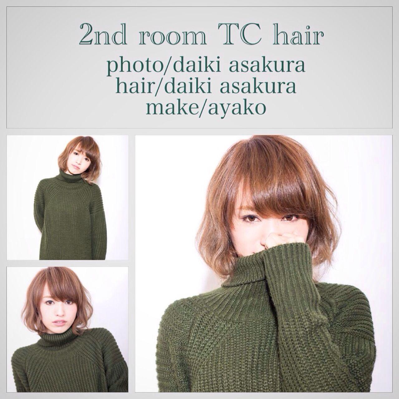ナチュラル ショート ストリート ボブ ヘアスタイルや髪型の写真・画像 | 朝倉 大樹(髪質改善おじさん) / 2nd room TChair