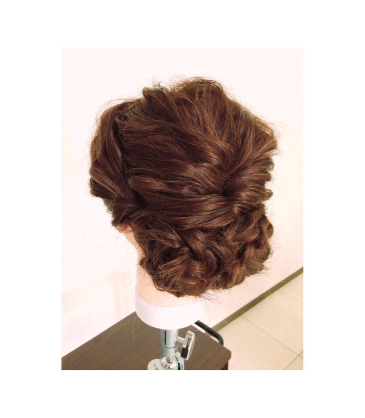ハーフアップ 簡単ヘアアレンジ ショート ハイライト ヘアスタイルや髪型の写真・画像 | 坂東崇 / hair make DOLCE