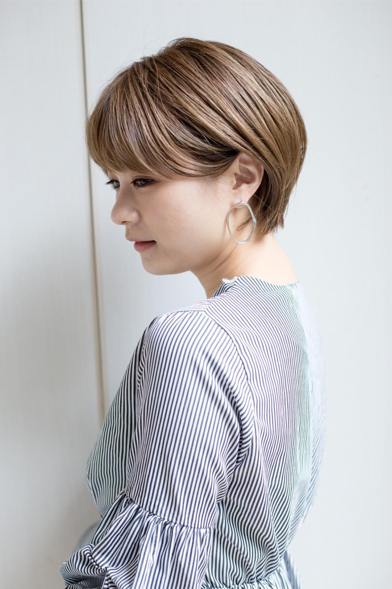 流し前髪 可愛い ふんわり ナチュラル ヘアスタイルや髪型の写真・画像   山口 健太 / Lond ange