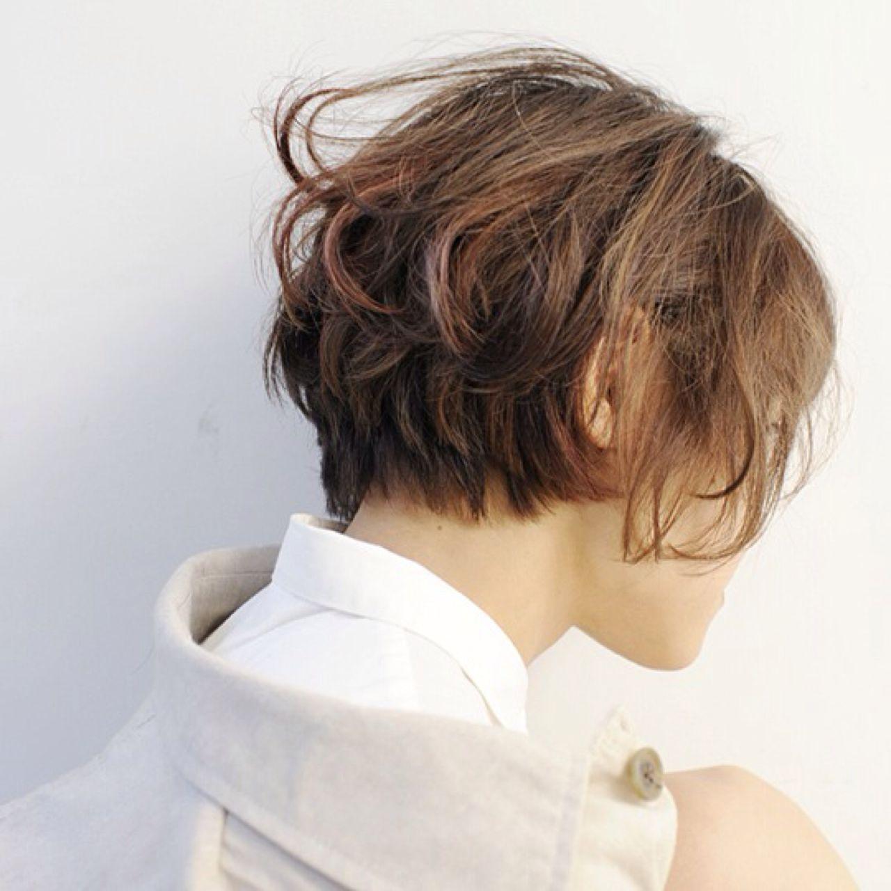 ショートカットの魅力UPはグラデーションカラーで!髪色の魔法で変身♡ 細井 豊 HEAVENS