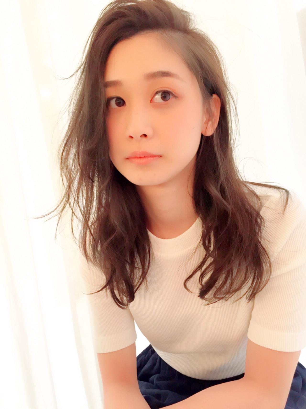 抜け感 大人女子 セミロング ストリート ヘアスタイルや髪型の写真・画像   掛橋 翔 / air-FUKUOKA