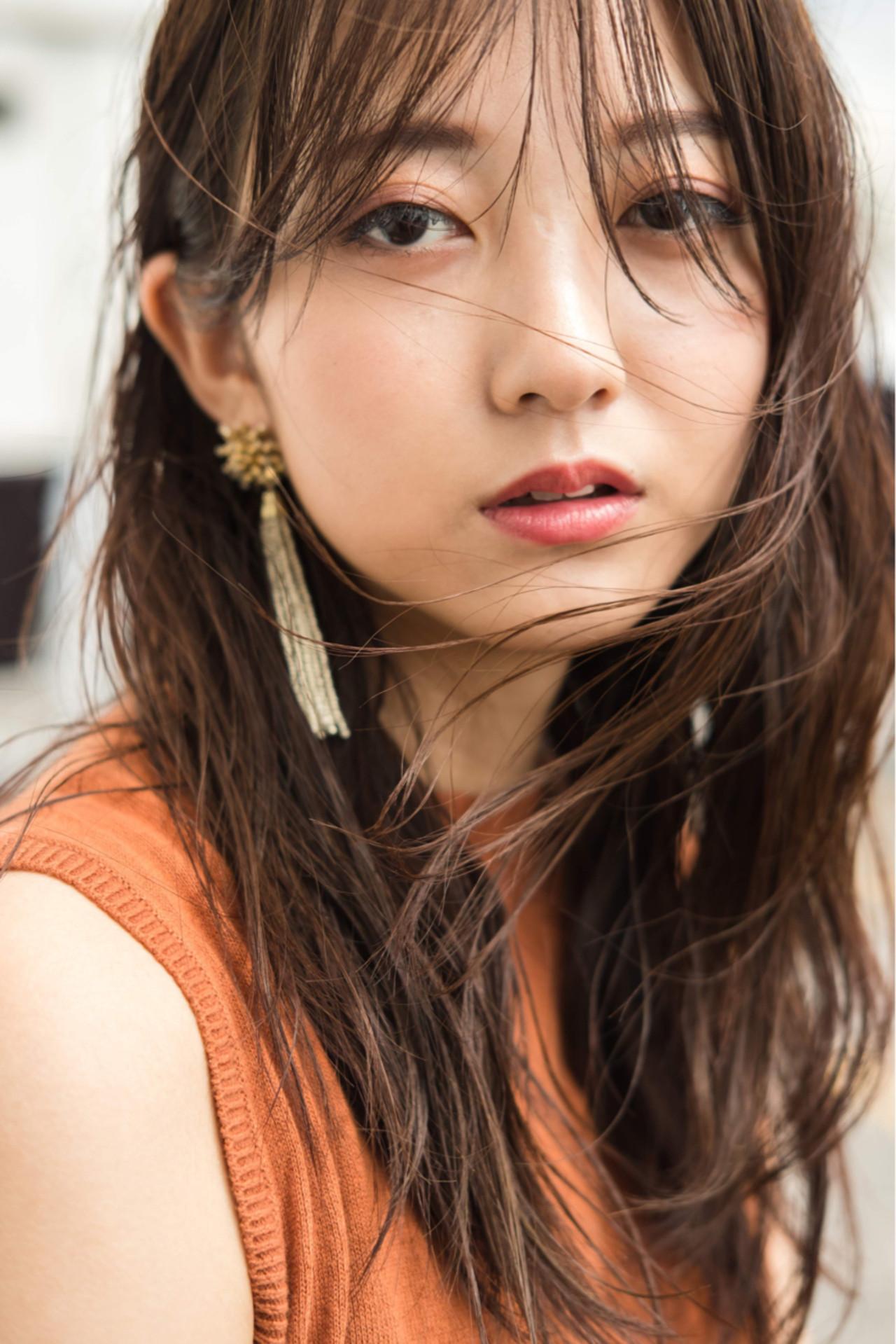 セミロング 大人女子 ナチュラル ストレート ヘアスタイルや髪型の写真・画像 | 川島 ゆり / ROGUE