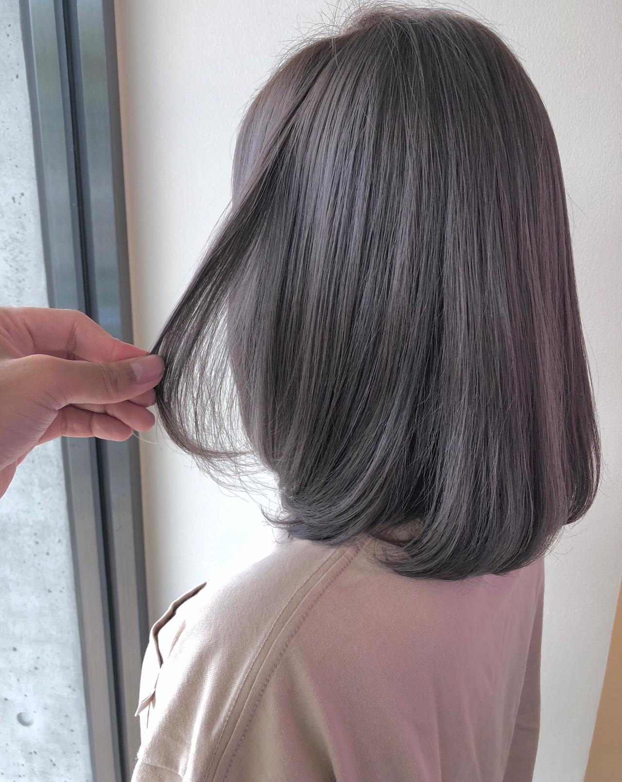 ヘアカラー ナチュラル ヘアアレンジ ブリーチ ヘアスタイルや髪型の写真・画像 | 田中 晨太 / AFLOAT HILLS