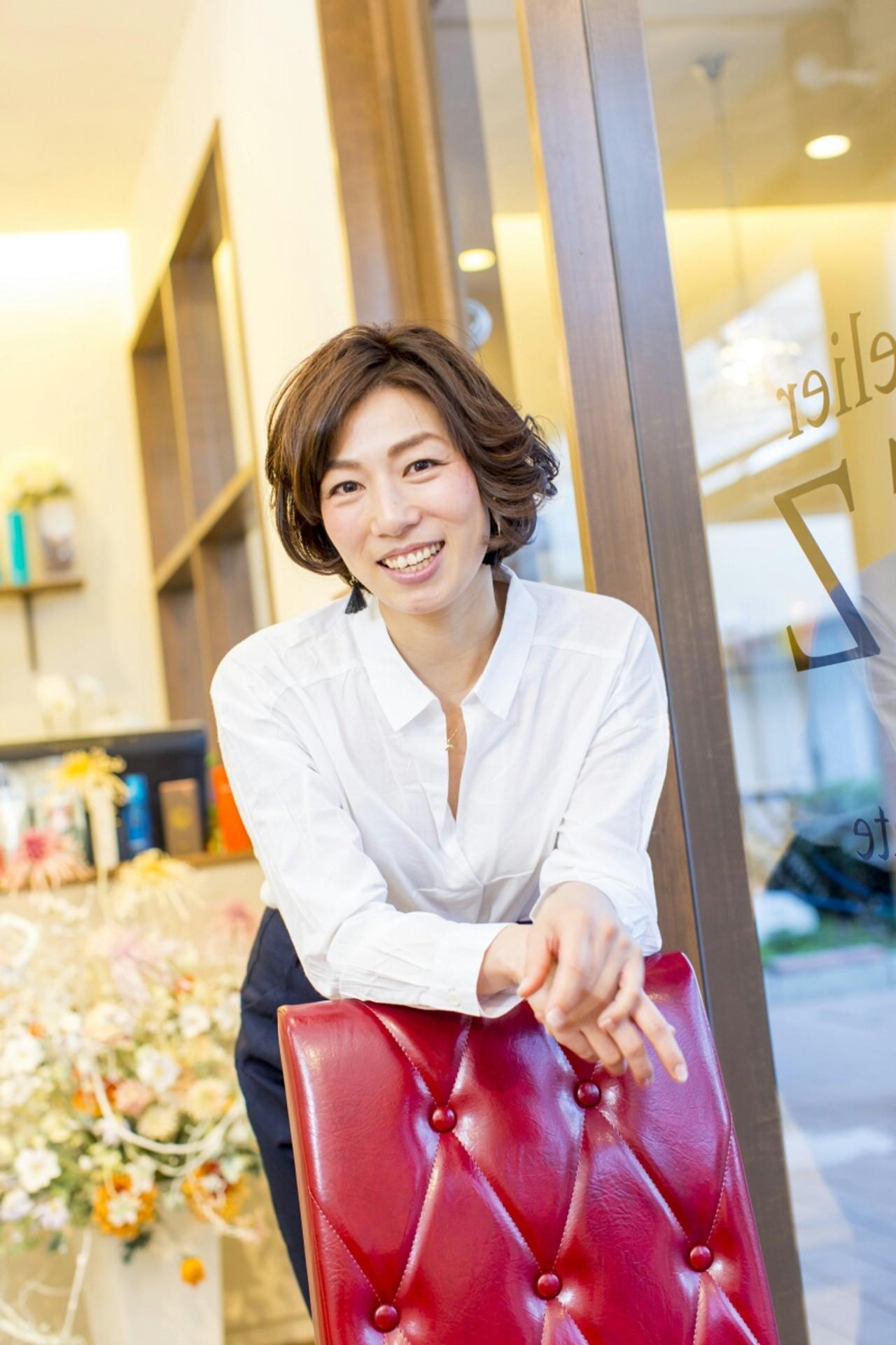 50代のためのヘアスタイル特集。気を付けたいポイントまとめ 西村 恵美