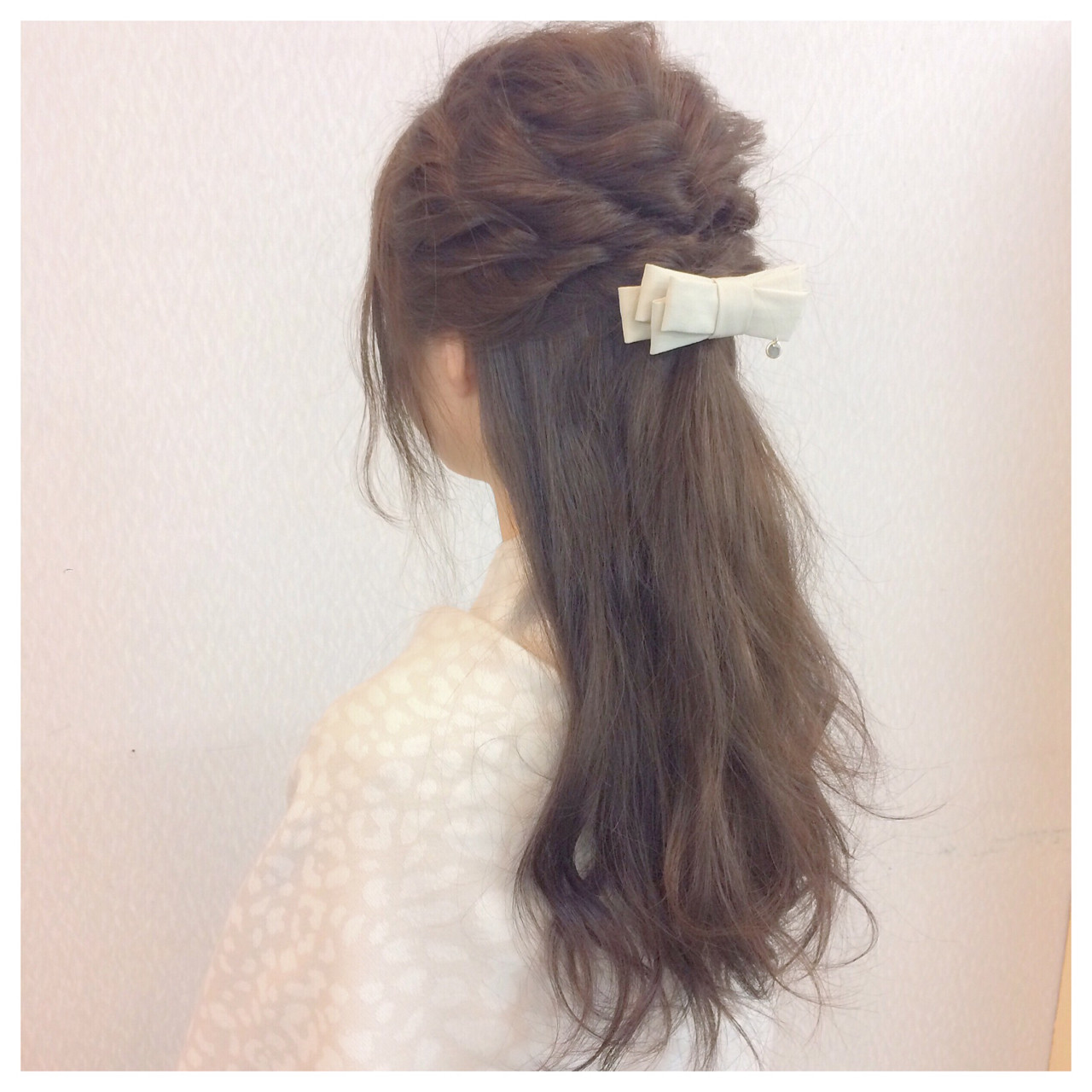 簡単ヘアアレンジ 大人かわいい 大人女子 ロングヘアスタイルや髪型の写真・画像