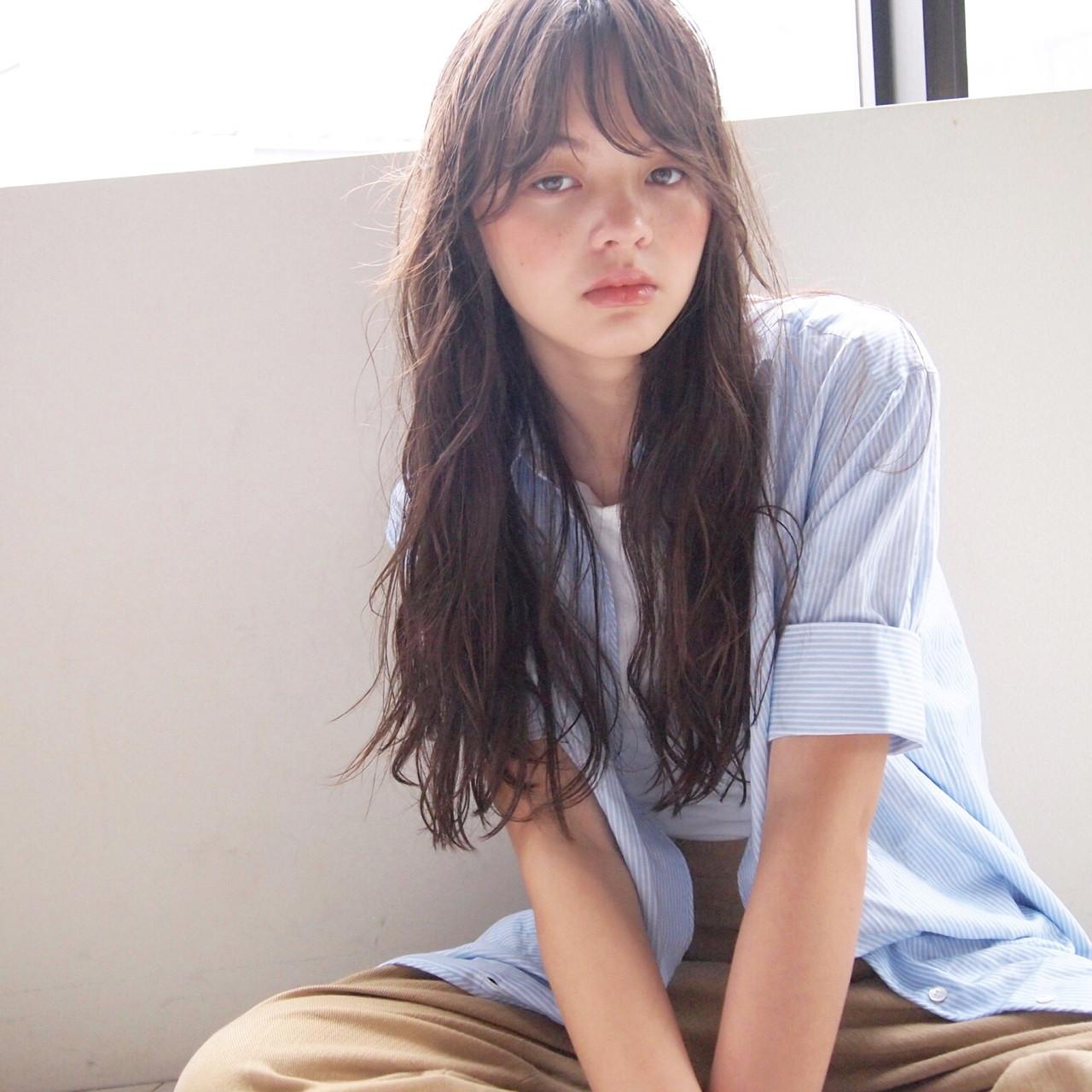 外国人風 パーマ アッシュ 大人かわいい ヘアスタイルや髪型の写真・画像   UEKI/nanuk / nanuk二子玉川