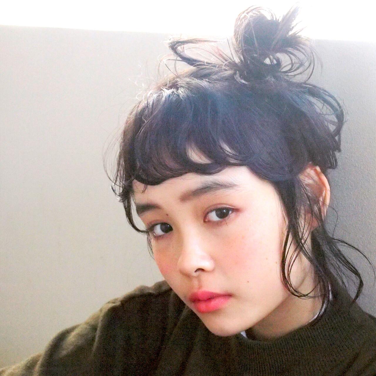 大人かわいい ナチュラル 前髪あり ミディアム ヘアスタイルや髪型の写真・画像 | UEKI/nanuk / nanuk二子玉川