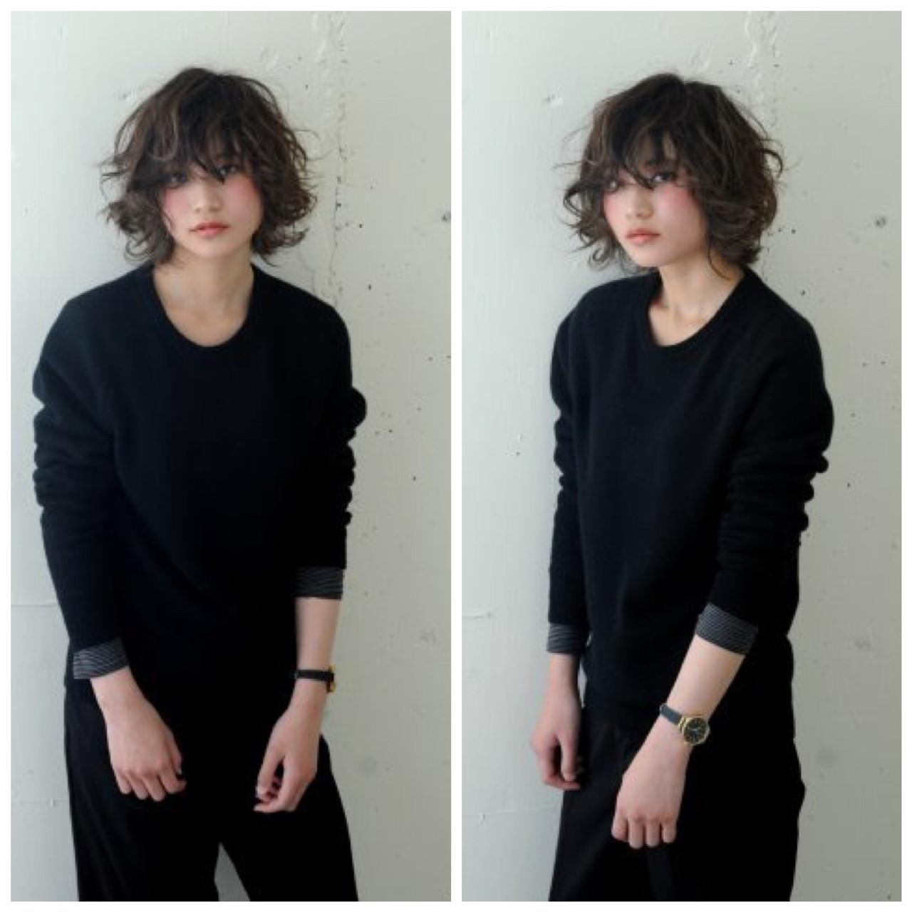 ゆるふわ 外国人風 パーマ ナチュラル ヘアスタイルや髪型の写真・画像 | 今永 律子 / adams bella