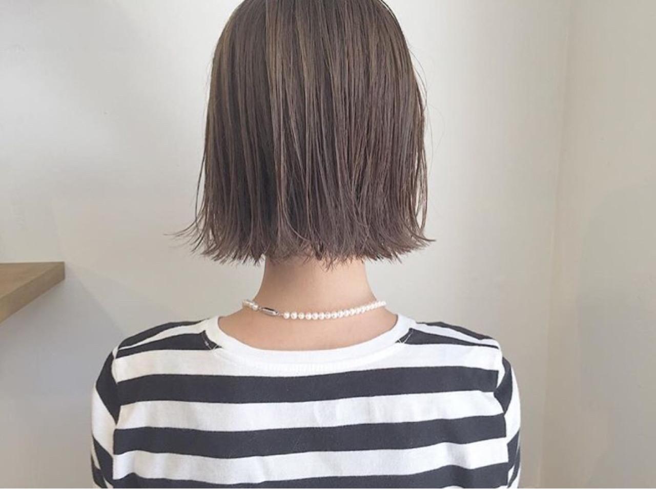 ナチュラル 外ハネ ハイライト リラックス ヘアスタイルや髪型の写真・画像 | KENTO.NOESALON / NOE SALON