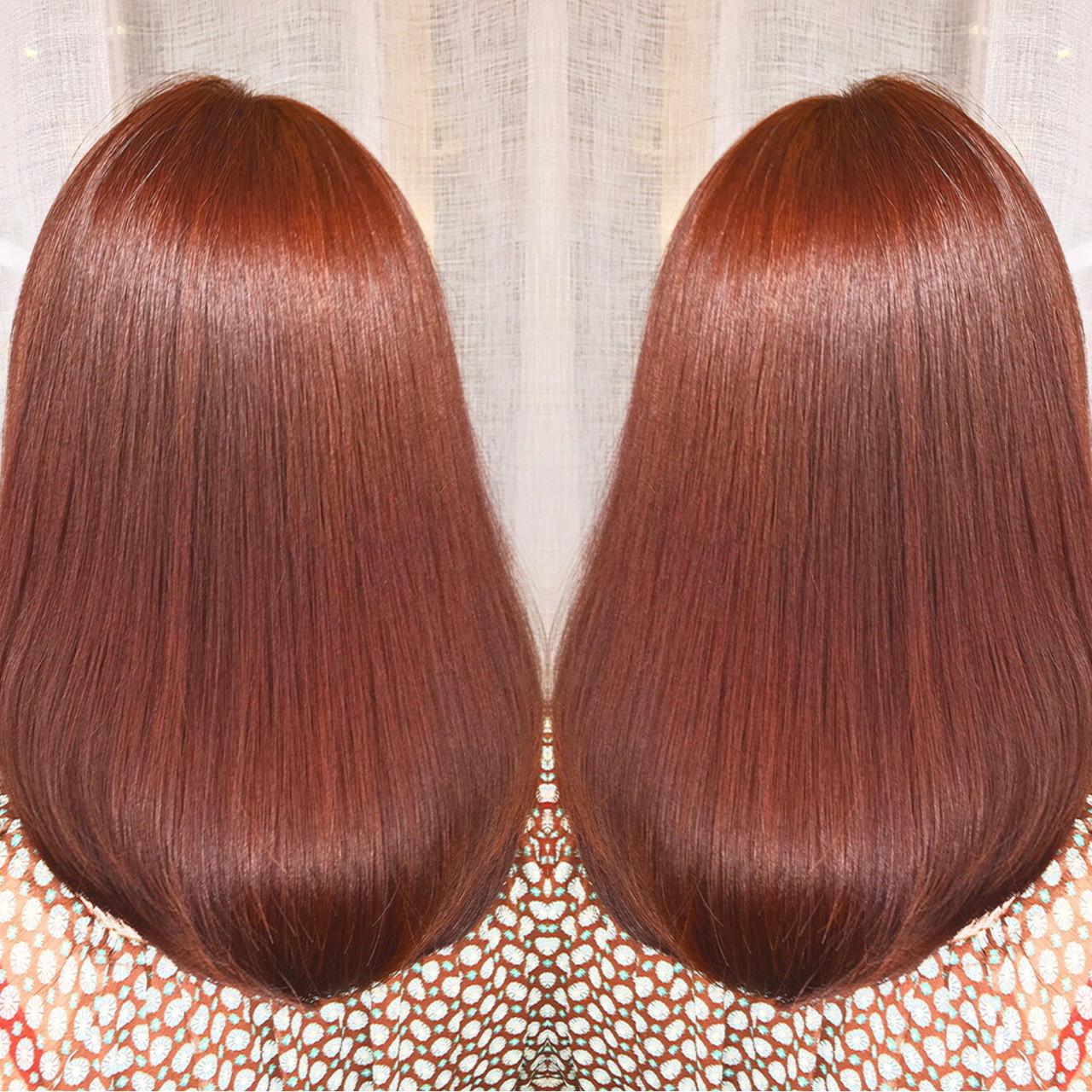 アウトドア スポーツ 冬 セミロング ヘアスタイルや髪型の写真・画像 | 筒井 隆由 / Hair salon mode