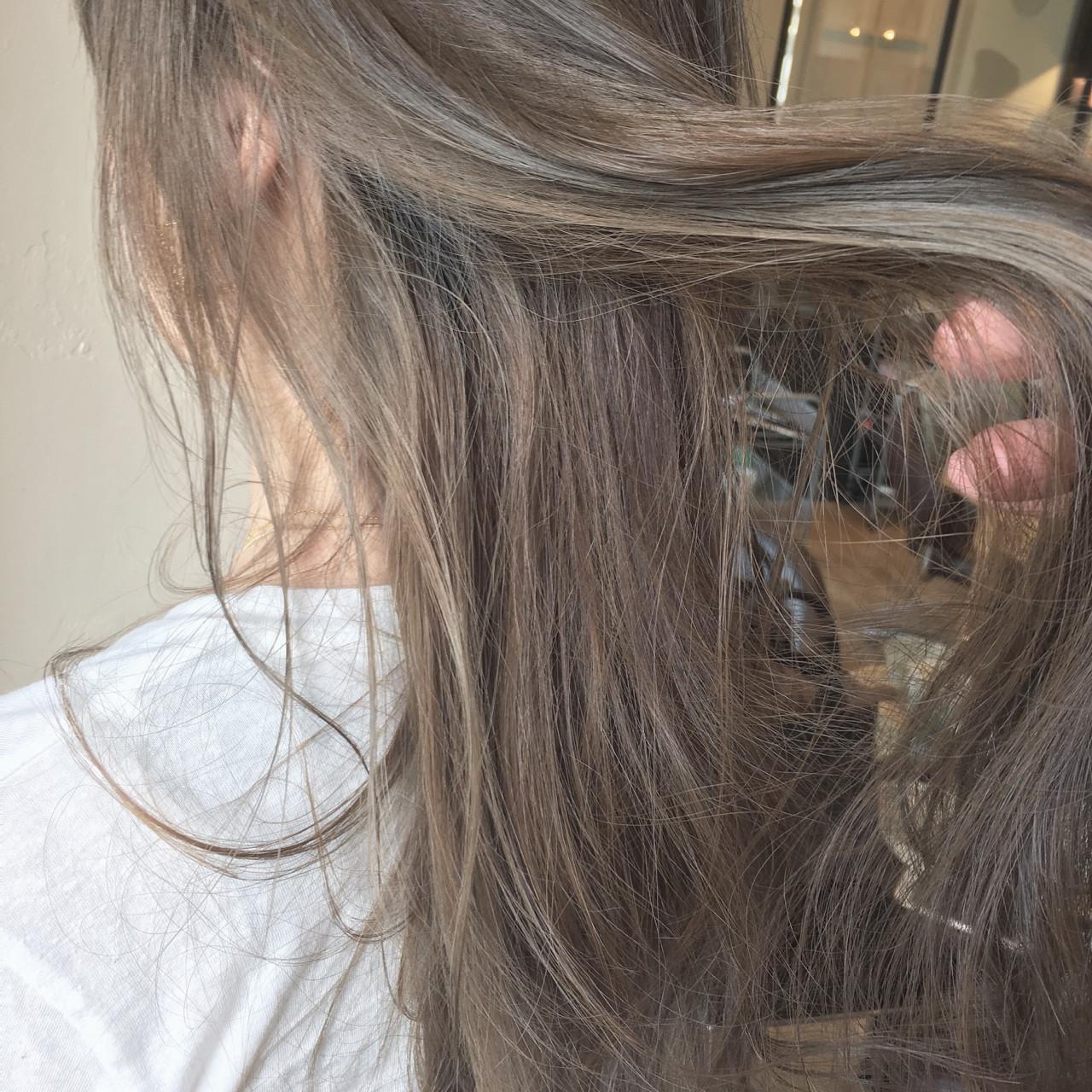 こなれ感 セミロング 上品 色気 ヘアスタイルや髪型の写真・画像 | 須賀 ユウスケ / Rizm