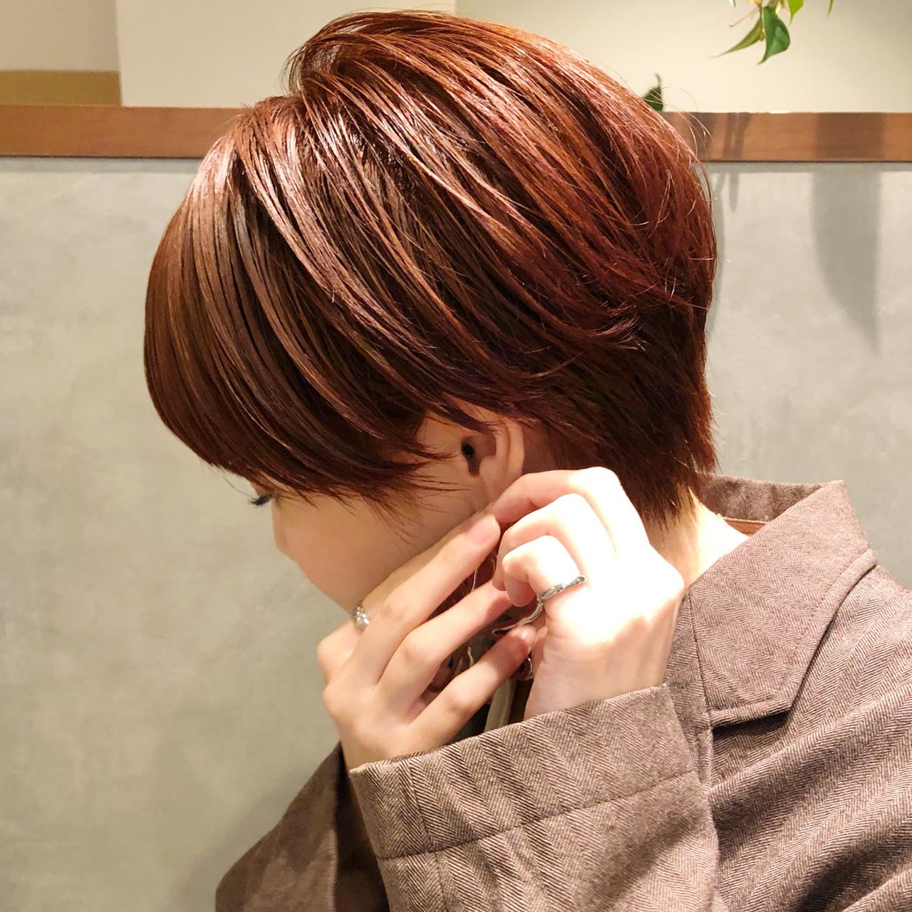 ブリーチ ハイトーン ショートボブ ショートヘアスタイルや髪型の写真・画像