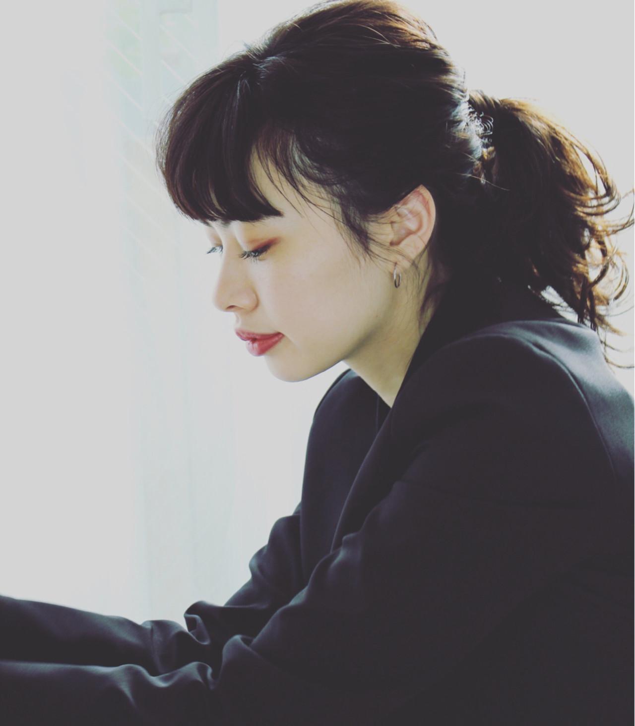 簡単ヘアアレンジ ヘアアレンジ かっこいい 黒髪 ヘアスタイルや髪型の写真・画像 | Mayumi Masumitsu / Arrange