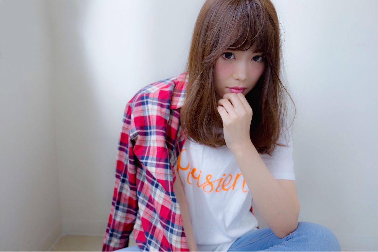 ウェットヘア パンク セミロング ストリート ヘアスタイルや髪型の写真・画像   菅谷 遼将 / LOREN