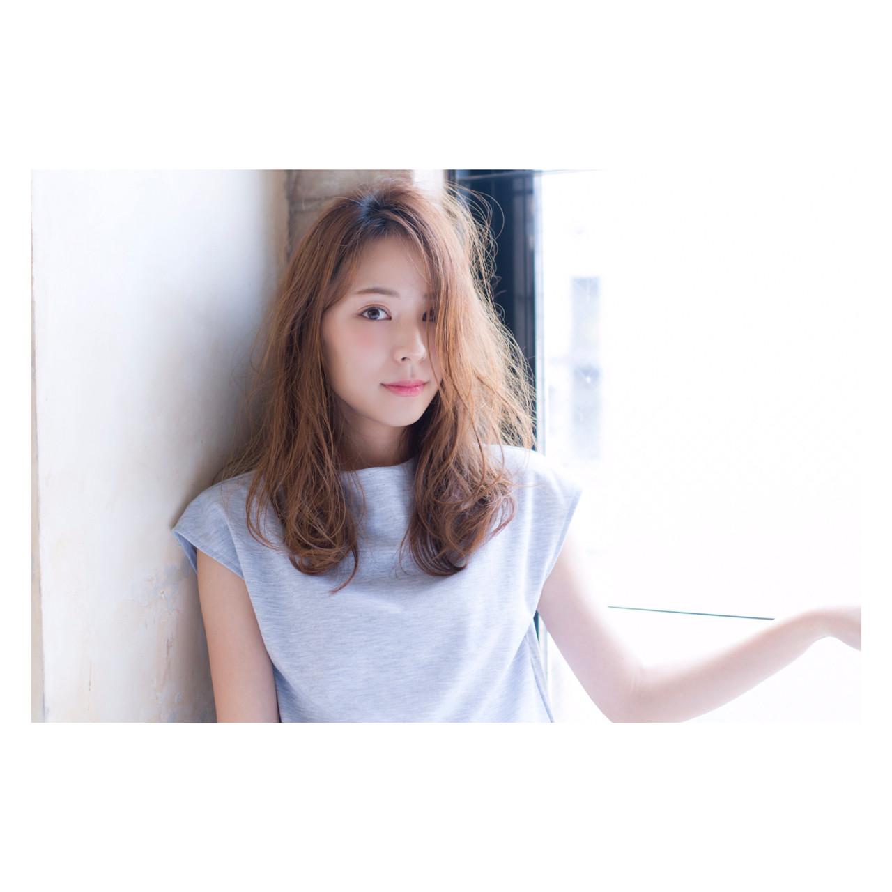 透明感 オフィス 秋 こなれ感 ヘアスタイルや髪型の写真・画像 | 竹石 大介 / air-FUKUOKA