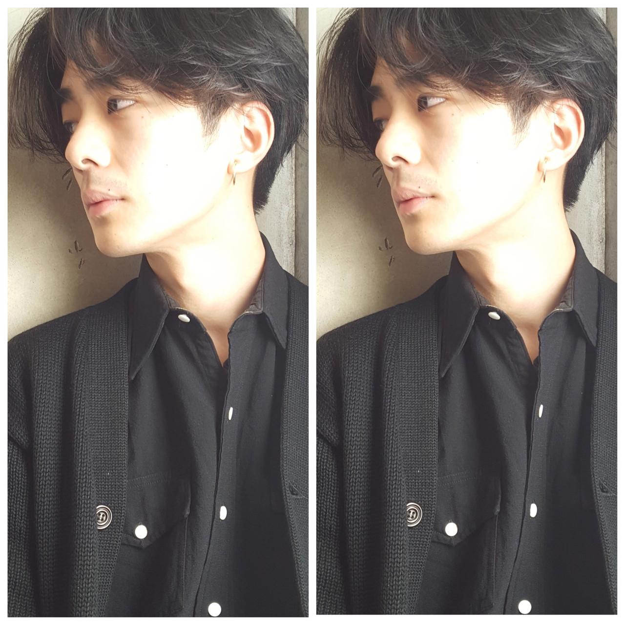 メンズショート ショート ナチュラル メンズヘア ヘアスタイルや髪型の写真・画像 | 鈴木さとる / フリーランス