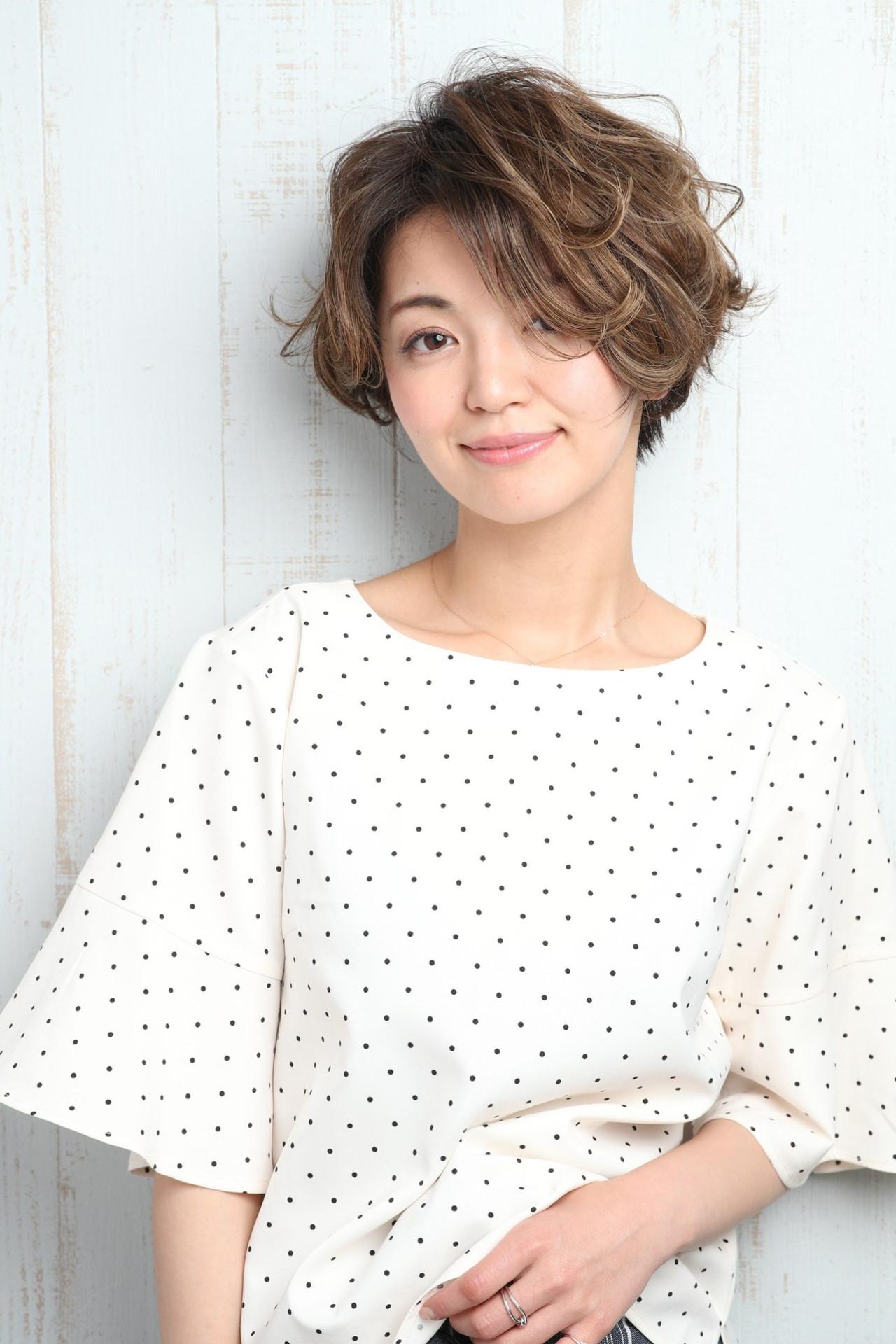 リラックス ショートボブ ショート 夏 ヘアスタイルや髪型の写真・画像 | Mizuki Ito / Merry land武蔵新城本店