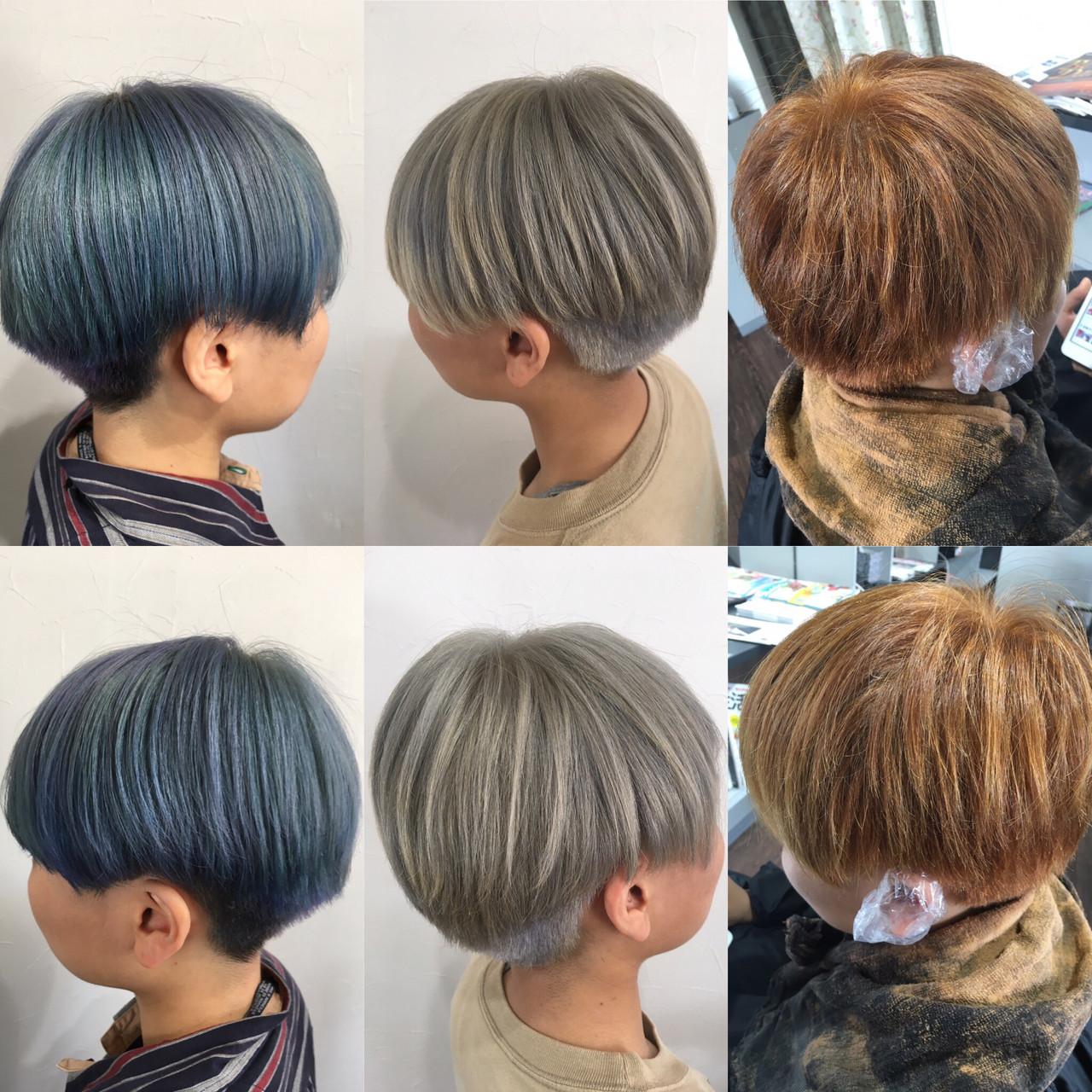 ショートヘア ショート ショートボブ ベリーショート ヘアスタイルや髪型の写真・画像   エイ / aime