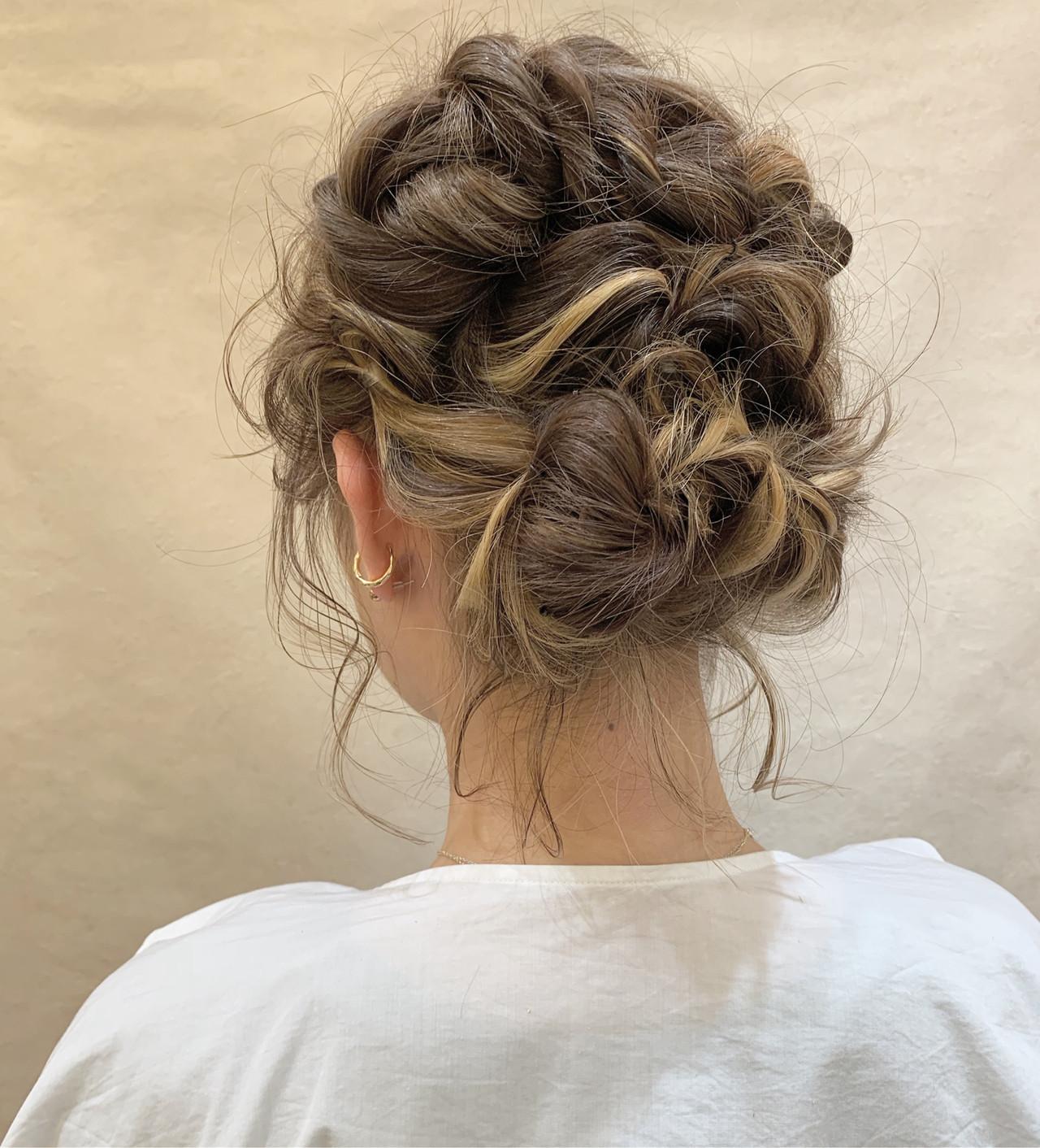 ヘアアレンジ フェミニン アウトドア 結婚式 ヘアスタイルや髪型の写真・画像 | 安永怜 / kakimotoarms田園調布