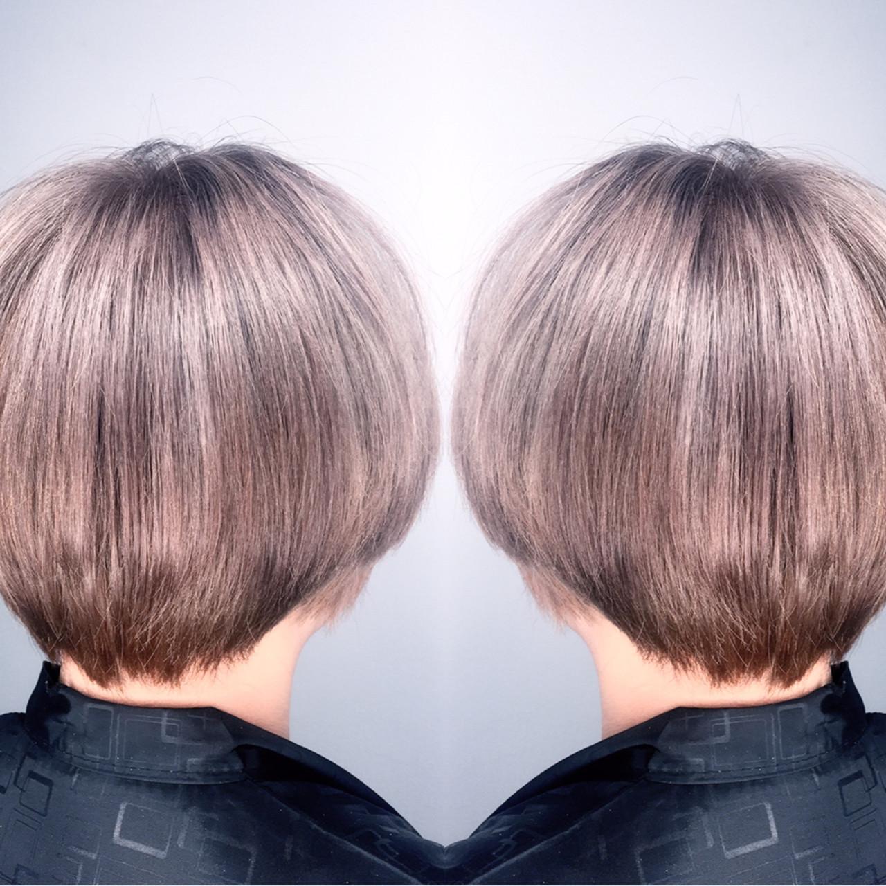 ハイライト モード ブリーチ ショート ヘアスタイルや髪型の写真・画像   筒井 隆由 / Hair salon mode