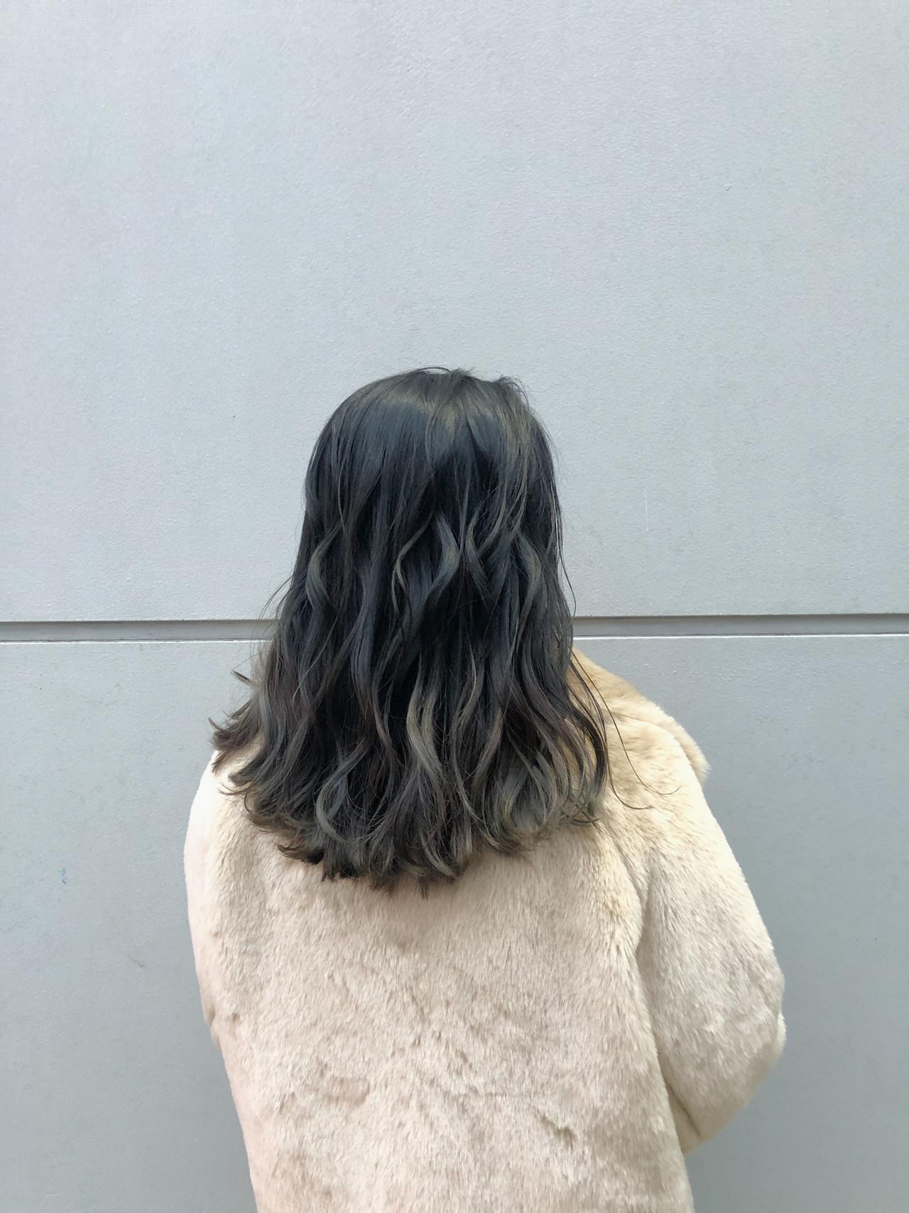 ゆるふわ グラデーションカラー アンニュイほつれヘア 大人かわいい ヘアスタイルや髪型の写真・画像   北里和哉 / far beyond