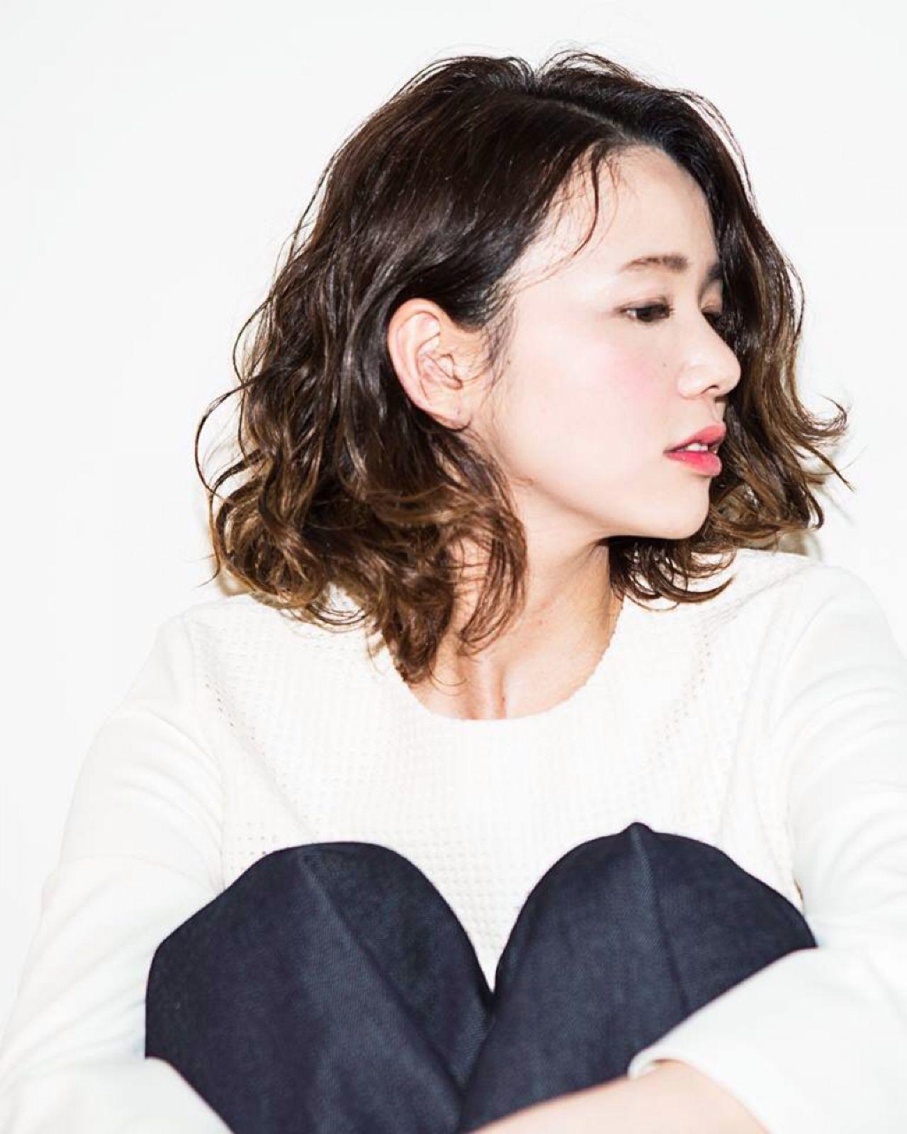 ショートカットの魅力UPはグラデーションカラーで!髪色の魔法で変身♡ 石川 洋子