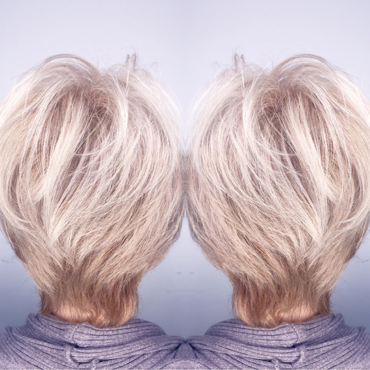 グレージュ 外国人風 モード アッシュ ヘアスタイルや髪型の写真・画像 | 筒井 隆由 / Hair salon mode