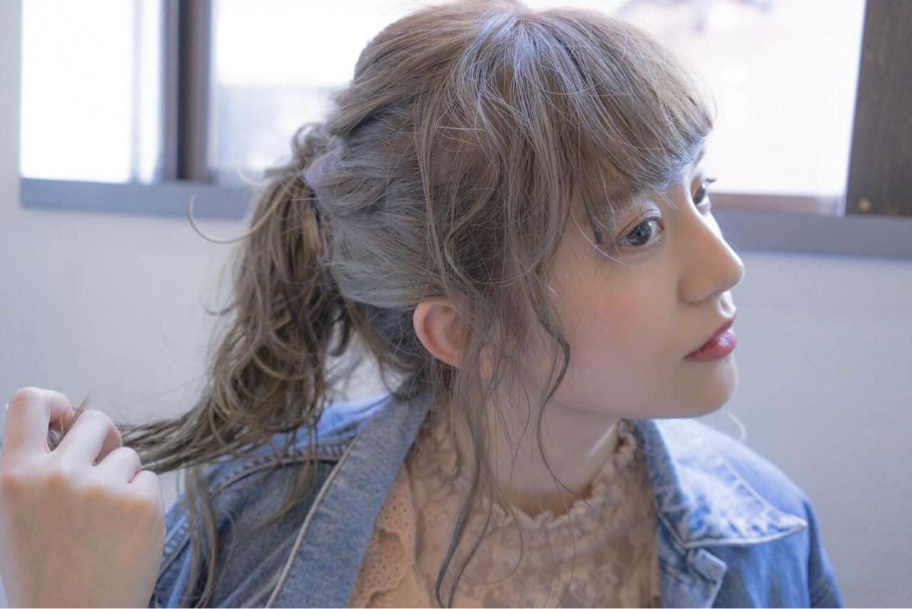 透明感 ミルクティーベージュ アッシュグレー 秋 ヘアスタイルや髪型の写真・画像 | 桝田 由佳 / フリーランスでしてます!お電話のご予約不可です