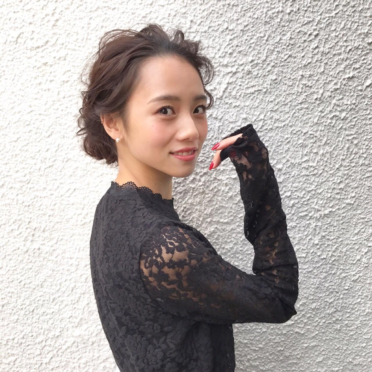 ヘアアレンジ アップスタイル 結婚式 ロング ヘアスタイルや髪型の写真・画像 | 三大寺 慶悟 / CHEST KOBE