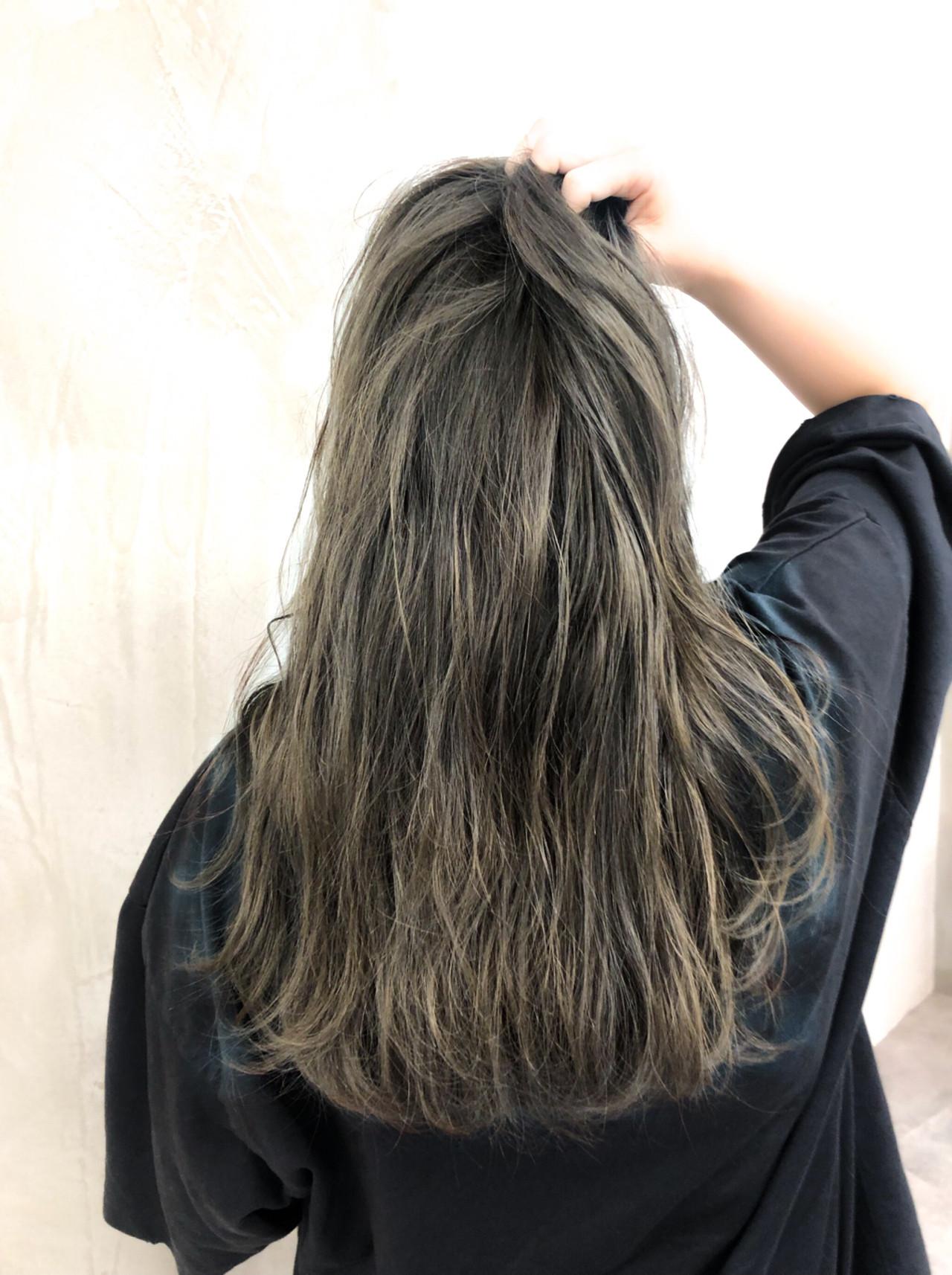 イルミナカラー ナチュラル ヘアアレンジ ロング ヘアスタイルや髪型の写真・画像 | 須貝 大空 / Anna Lanna 表参道