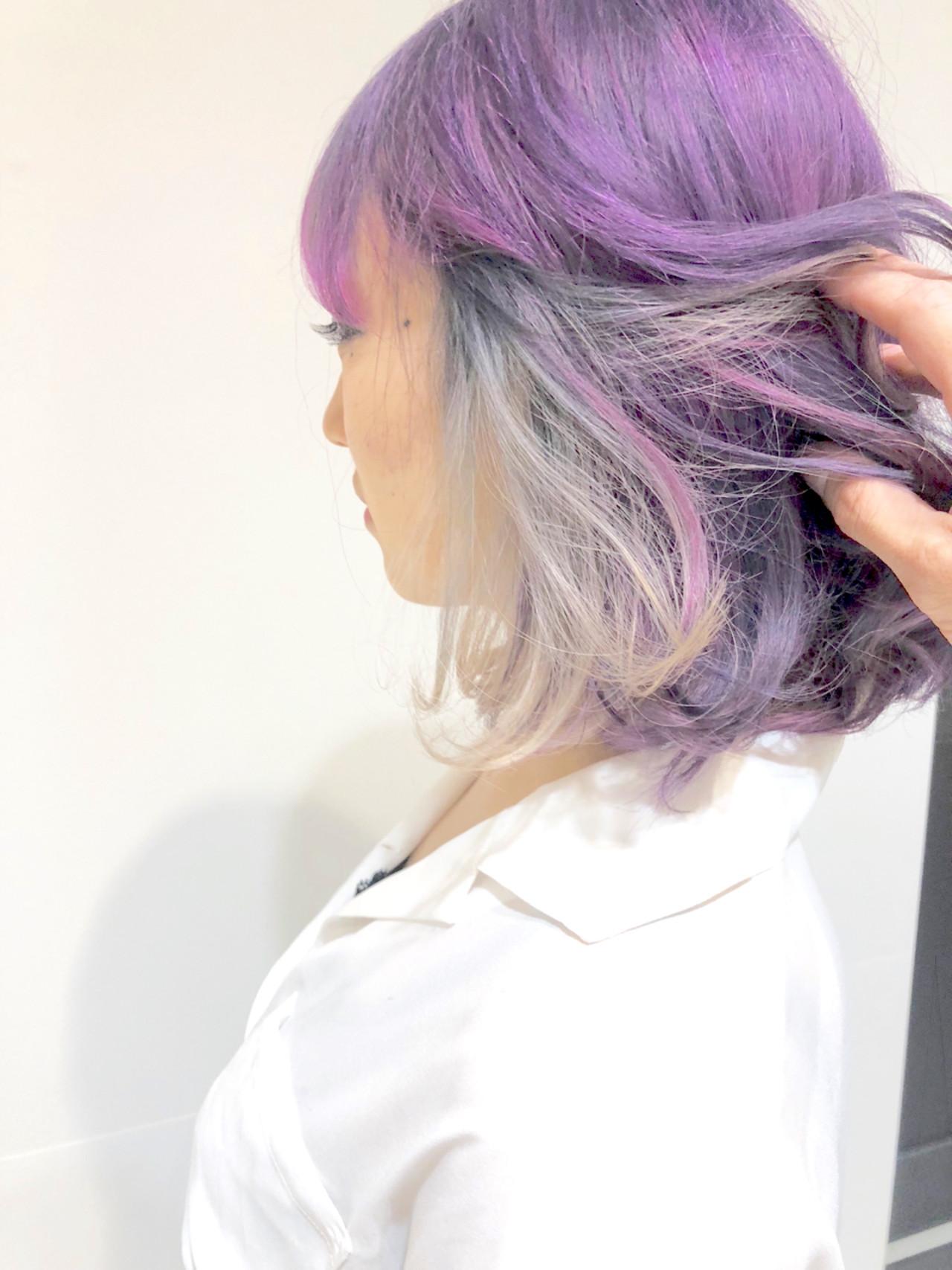 ストリート ボブ ヘアスタイルや髪型の写真・画像 | 浜田敦史 / Tiffa栄