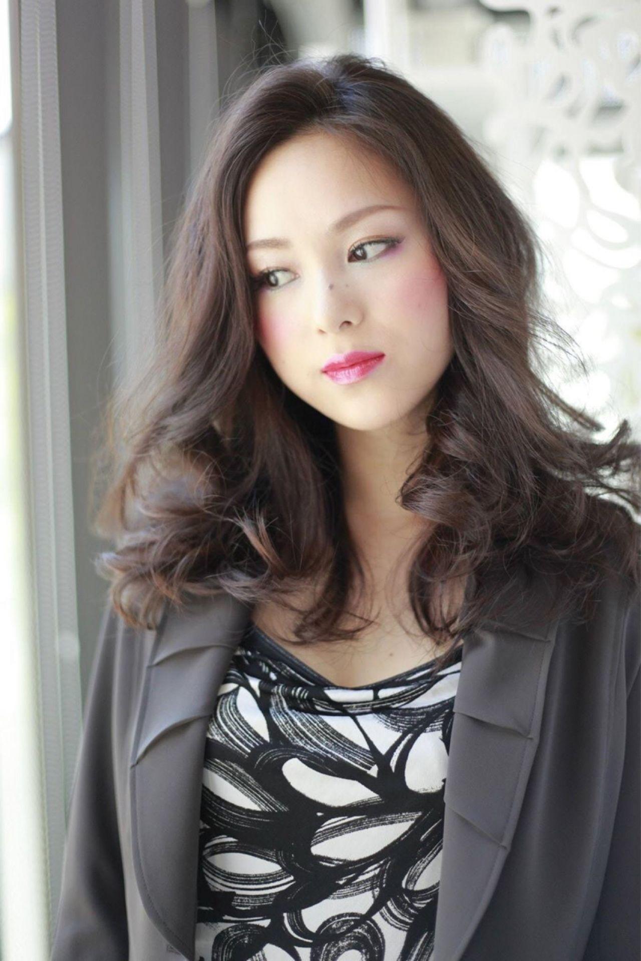 抜け感 かっこいい グラマラス モード ヘアスタイルや髪型の写真・画像 | 忠奈々 / SNIPS DOES
