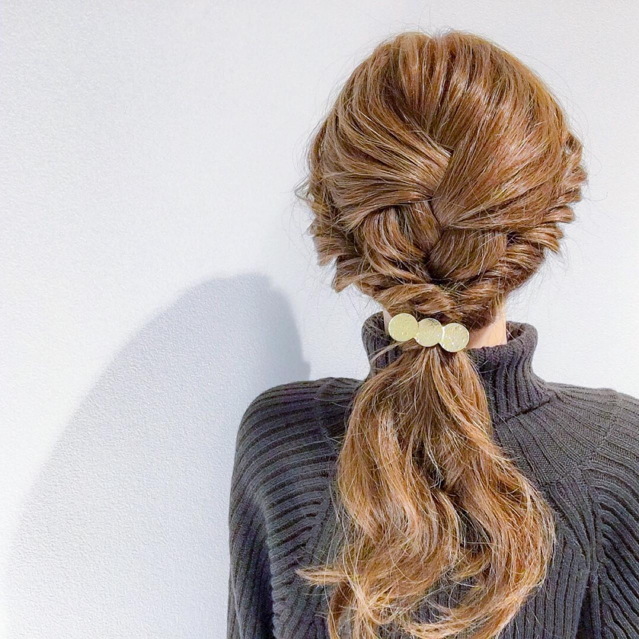 結婚式 ロング ヘアアレンジ 簡単ヘアアレンジ ヘアスタイルや髪型の写真・画像 | 美容師HIRO/Amoute代表 / Amoute/アムティ