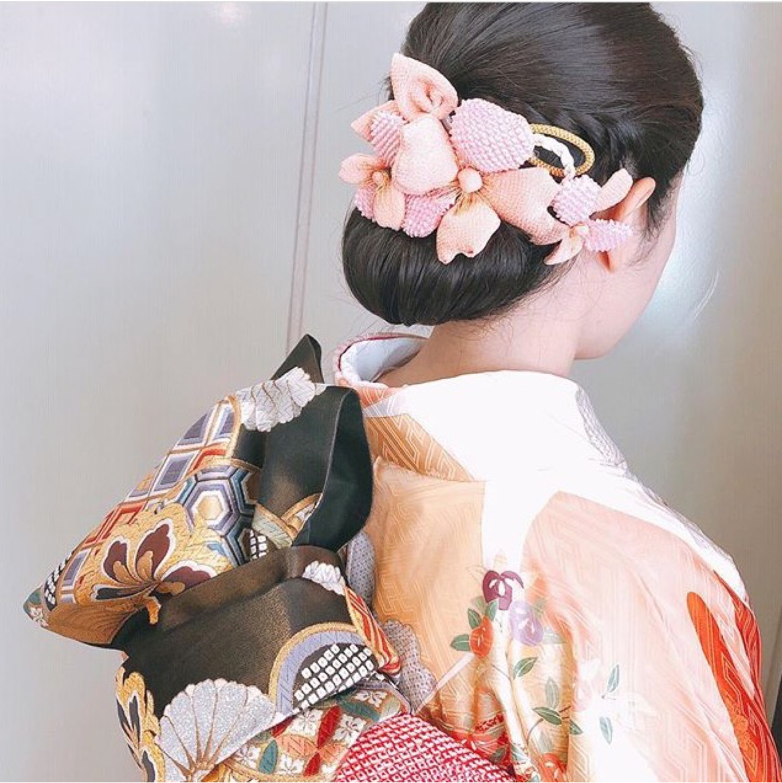 アップスタイル ヘアアレンジ 結婚式 ナチュラル ヘアスタイルや髪型の写真・画像   松下 みちる / snob AnBlick