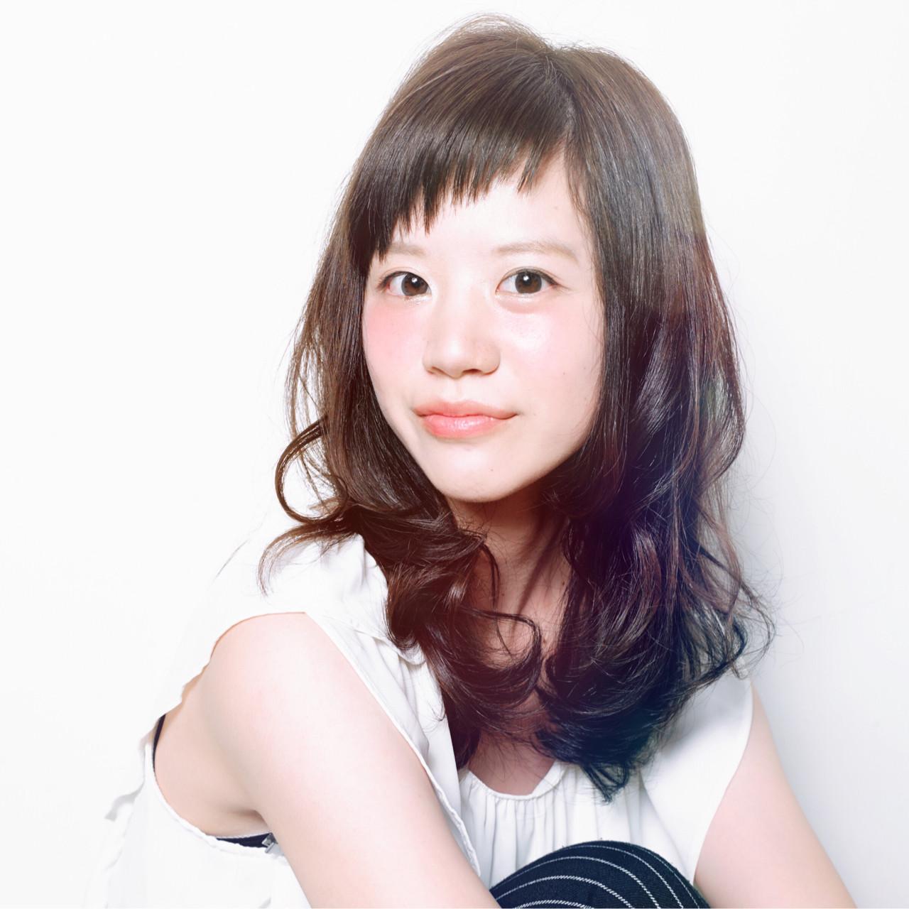 大人女子 オン眉 春 モテ髪 ヘアスタイルや髪型の写真・画像 | 吉川 知志 / MA MAISON PRIVEE DE REVES