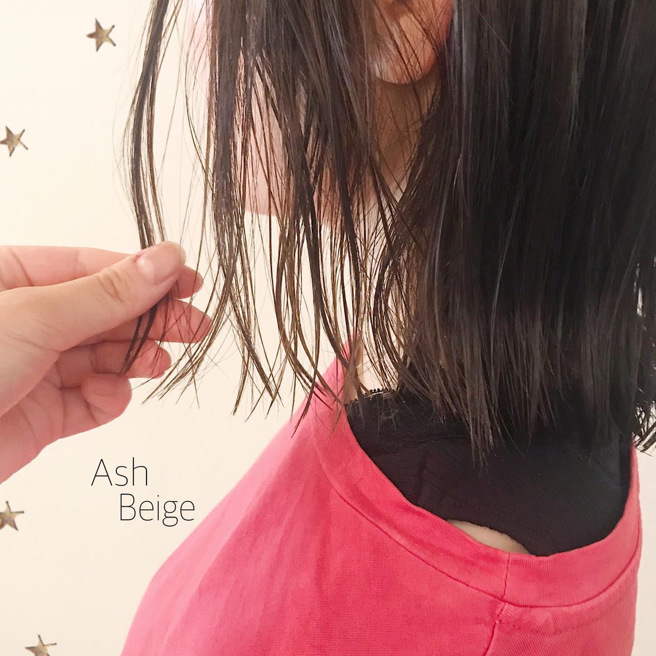 切りっぱなしボブ ゆる巻き ゆるナチュラル ナチュラル ヘアスタイルや髪型の写真・画像 | 市川千夏*札幌 / salon AKIRA