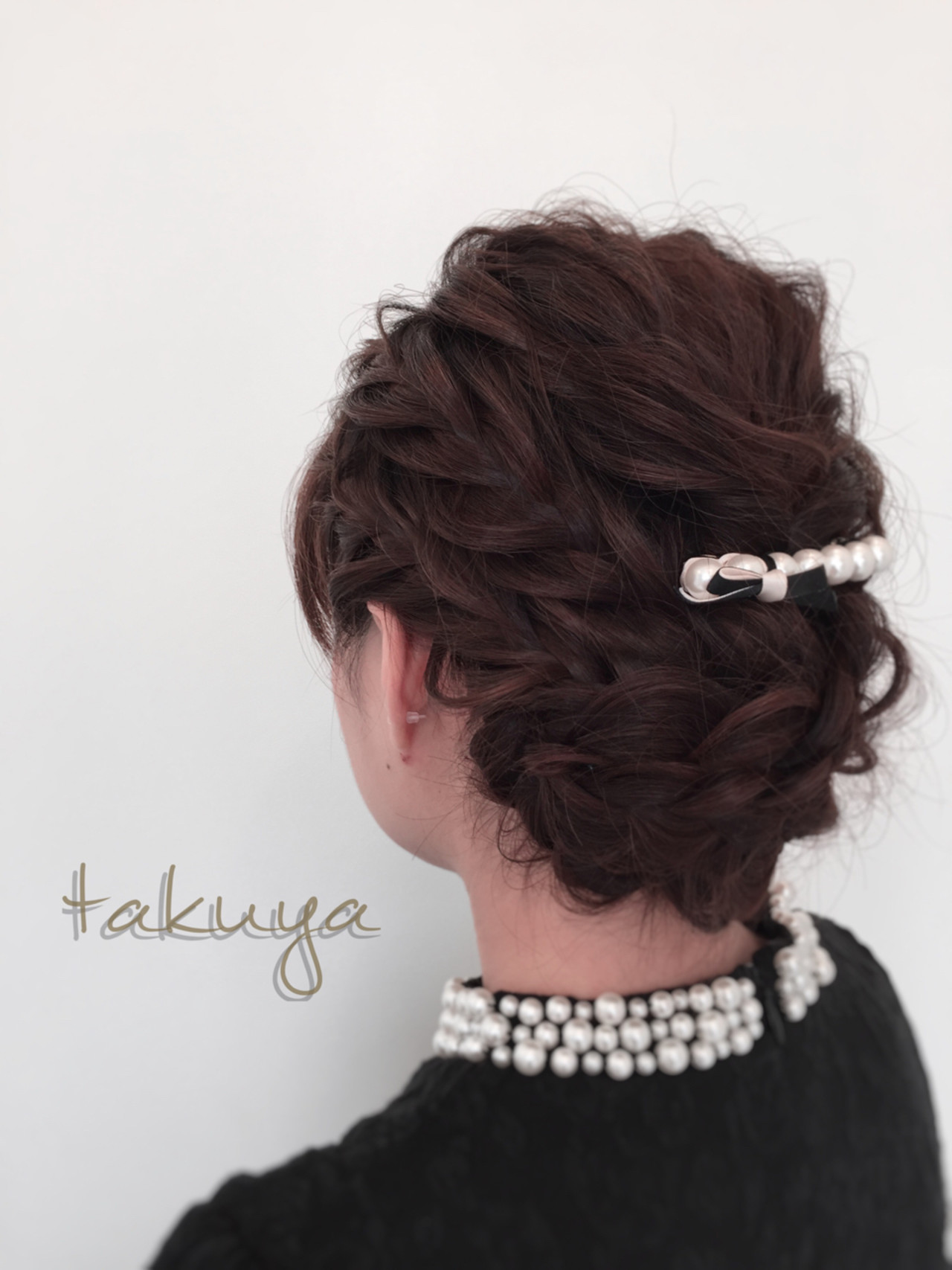 ショート 大人かわいい ヘアアレンジ ゆるふわ ヘアスタイルや髪型の写真・画像 | 小田拓矢 / Soul eater