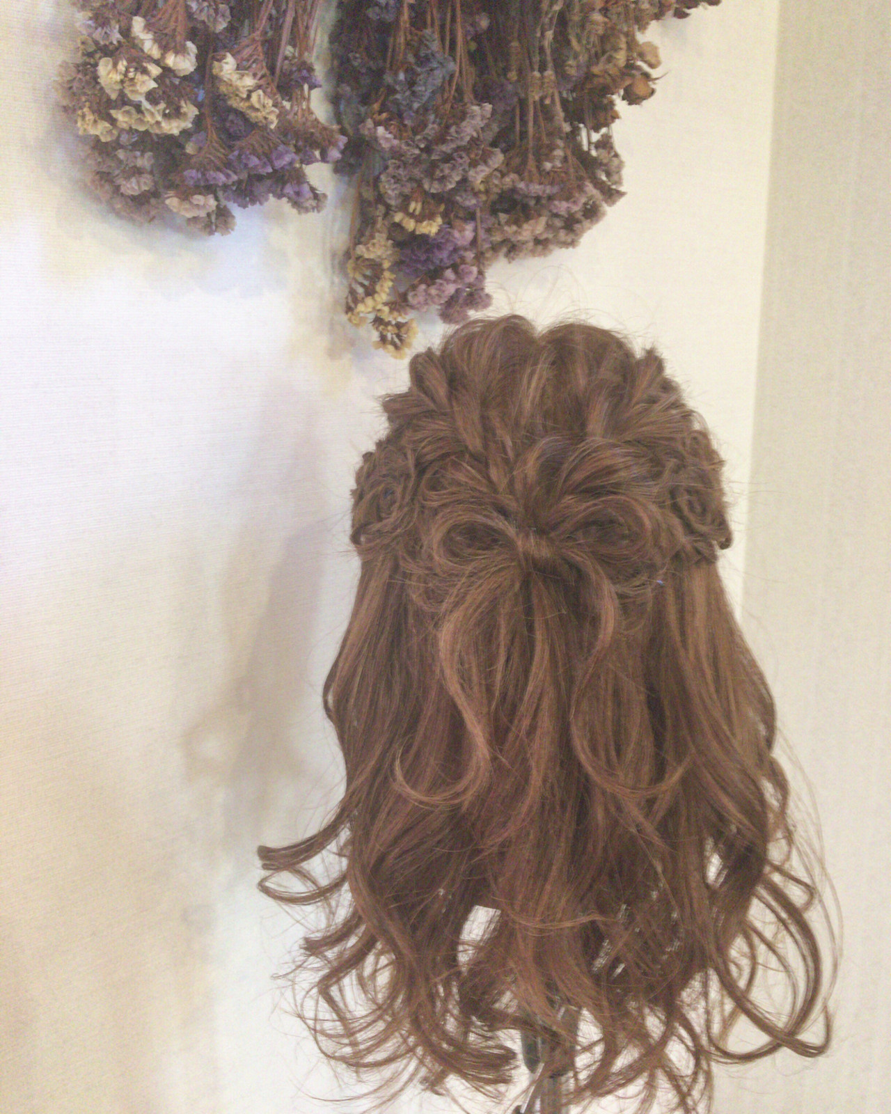 簡単ヘアアレンジ デート 黒髪 ロング ヘアスタイルや髪型の写真・画像 | MOMOKO / HairworksZEAL