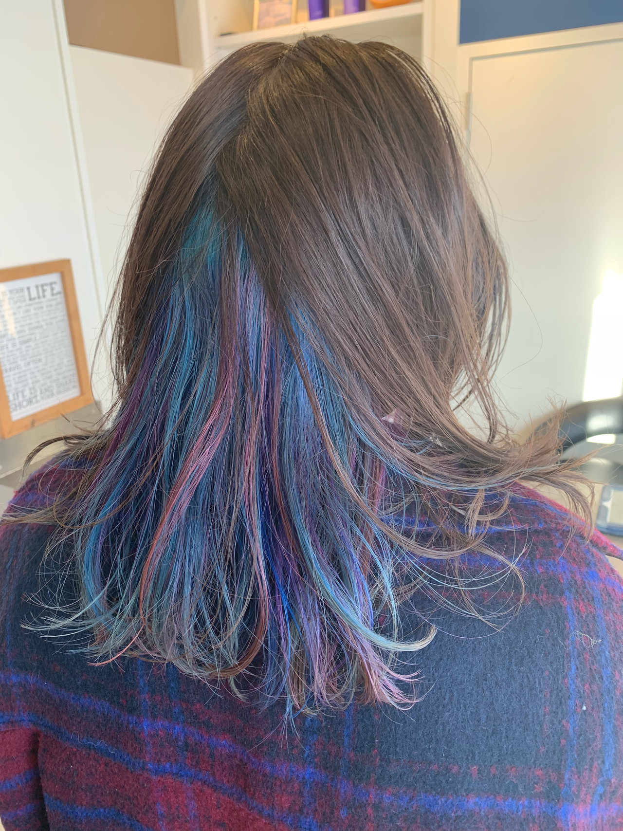 ストリート ハイトーンカラー デザインカラー ピンク ヘアスタイルや髪型の写真・画像 | Hatori Masaki / rela hair salon